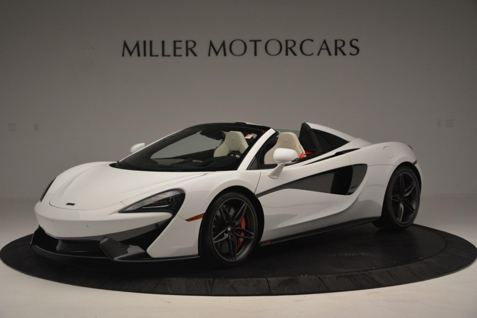 New 2019 McLaren 570S Spider Convertible For Sale In Greenwich, CT. Alfa Romeo of Greenwich, MC385 2523_main