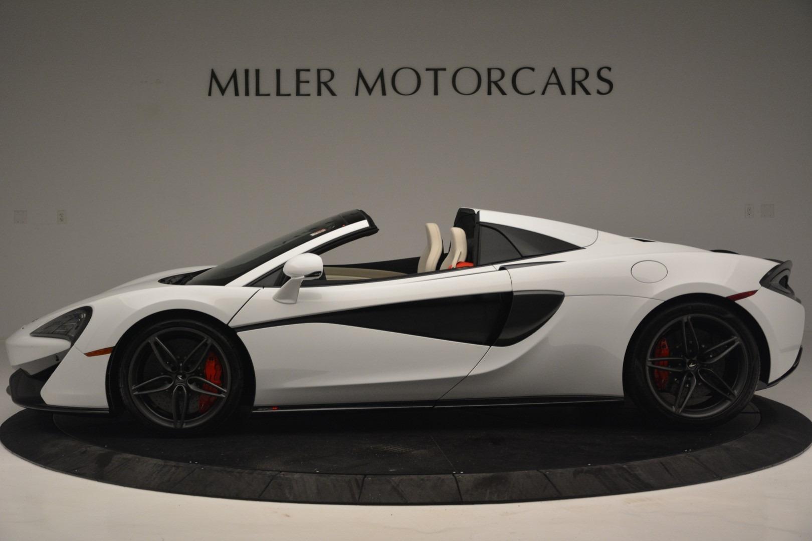 New 2019 McLaren 570S Spider Convertible For Sale In Greenwich, CT. Alfa Romeo of Greenwich, MC385 2523_p3