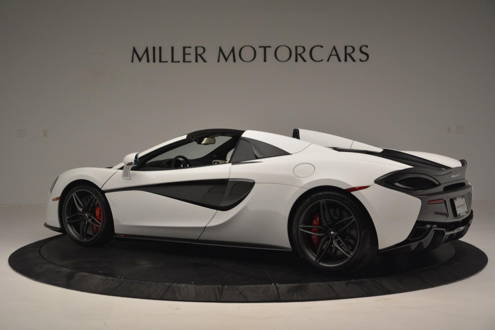New 2019 McLaren 570S Spider Convertible For Sale In Greenwich, CT. Alfa Romeo of Greenwich, MC385 2523_p4