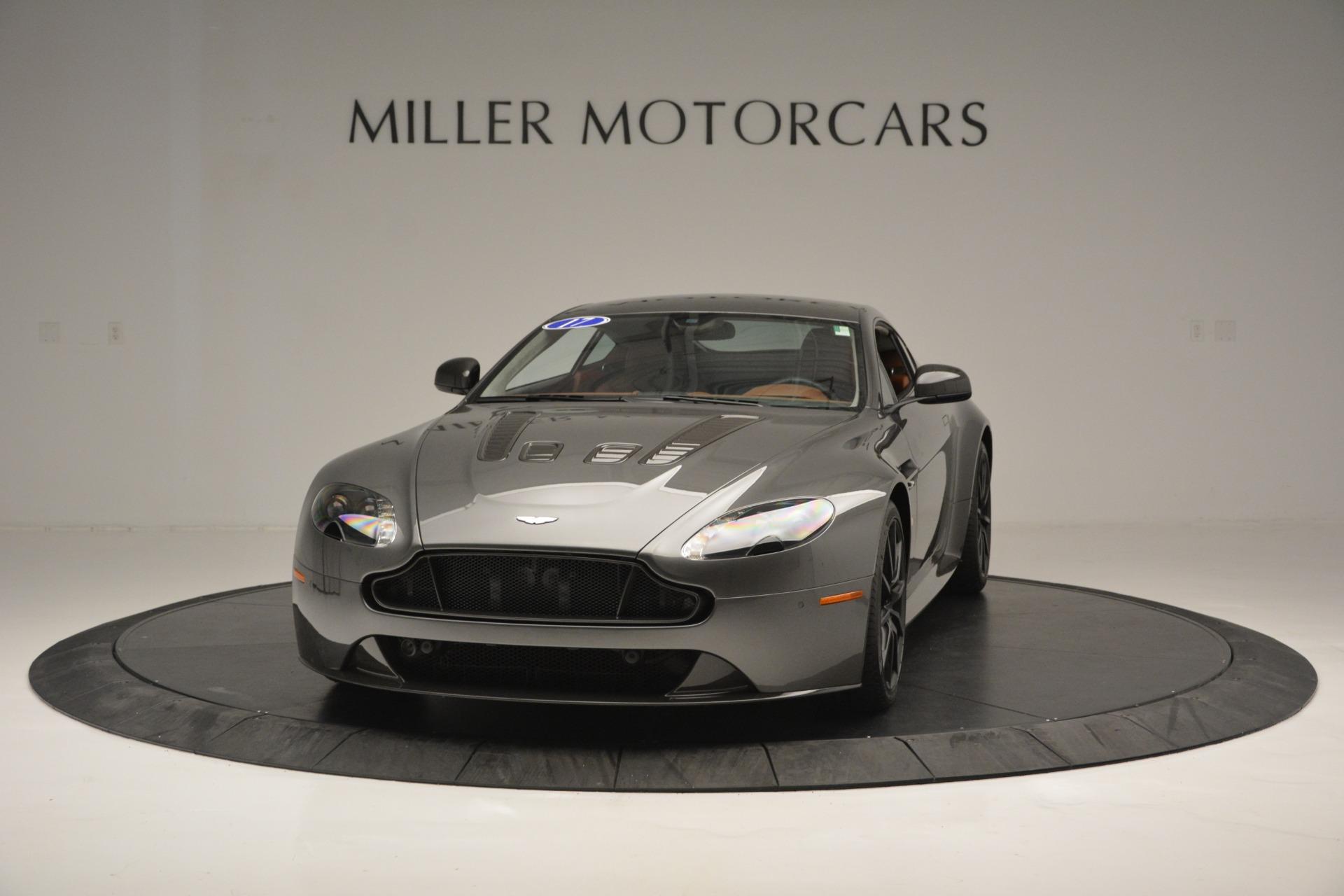 Used 2017 Aston Martin V12 Vantage S  For Sale In Greenwich, CT. Alfa Romeo of Greenwich, 7429 2561_main