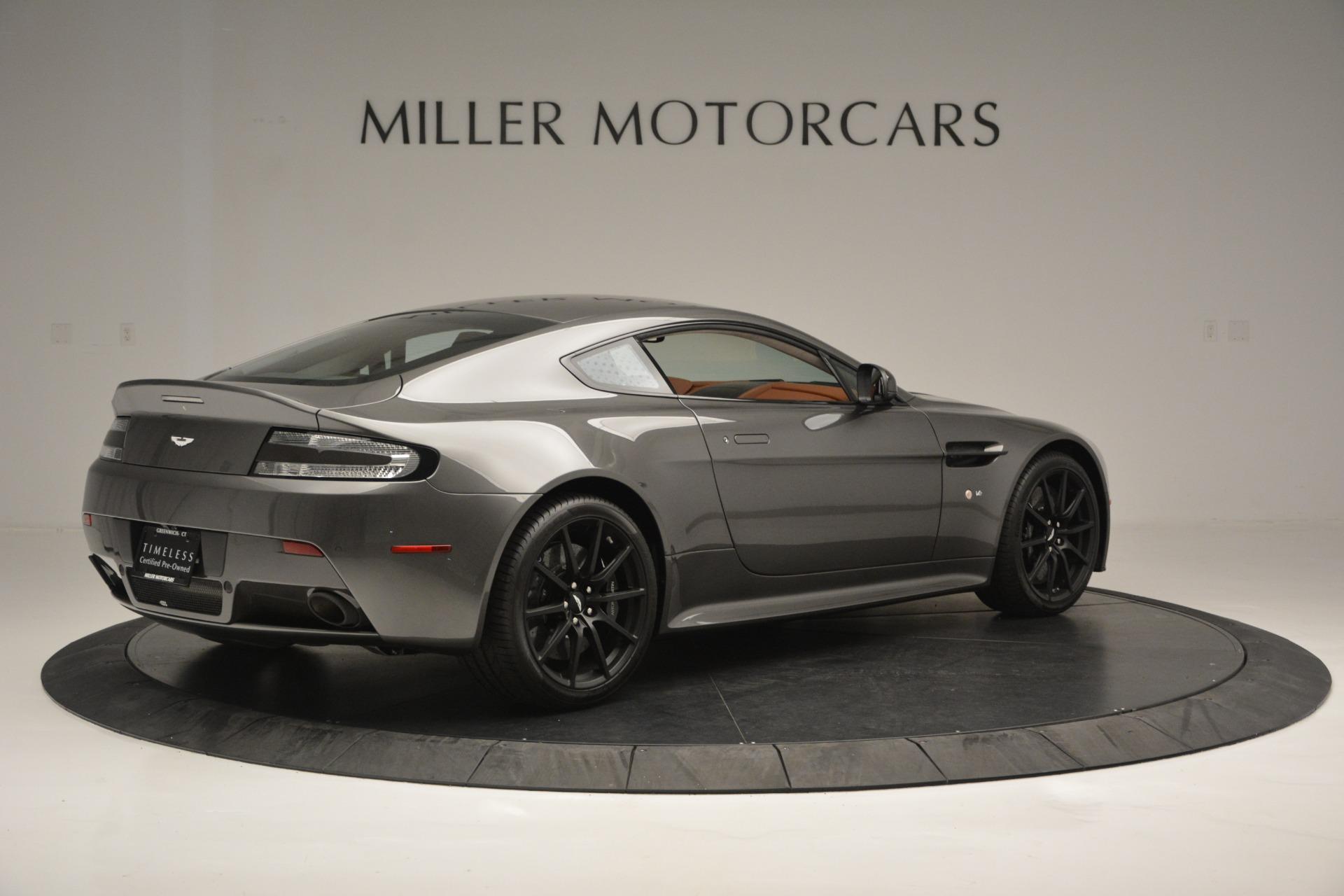 Used 2017 Aston Martin V12 Vantage S  For Sale In Greenwich, CT. Alfa Romeo of Greenwich, 7429 2561_p8