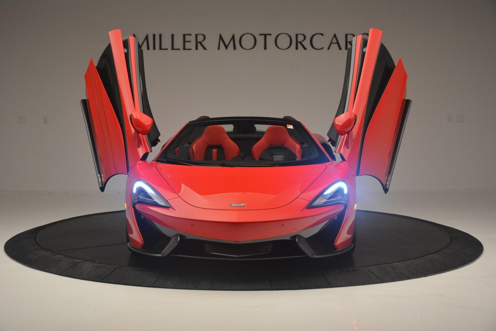 New 2019 McLaren 570S Spider Convertible For Sale In Greenwich, CT. Alfa Romeo of Greenwich, MC375 2564_p13