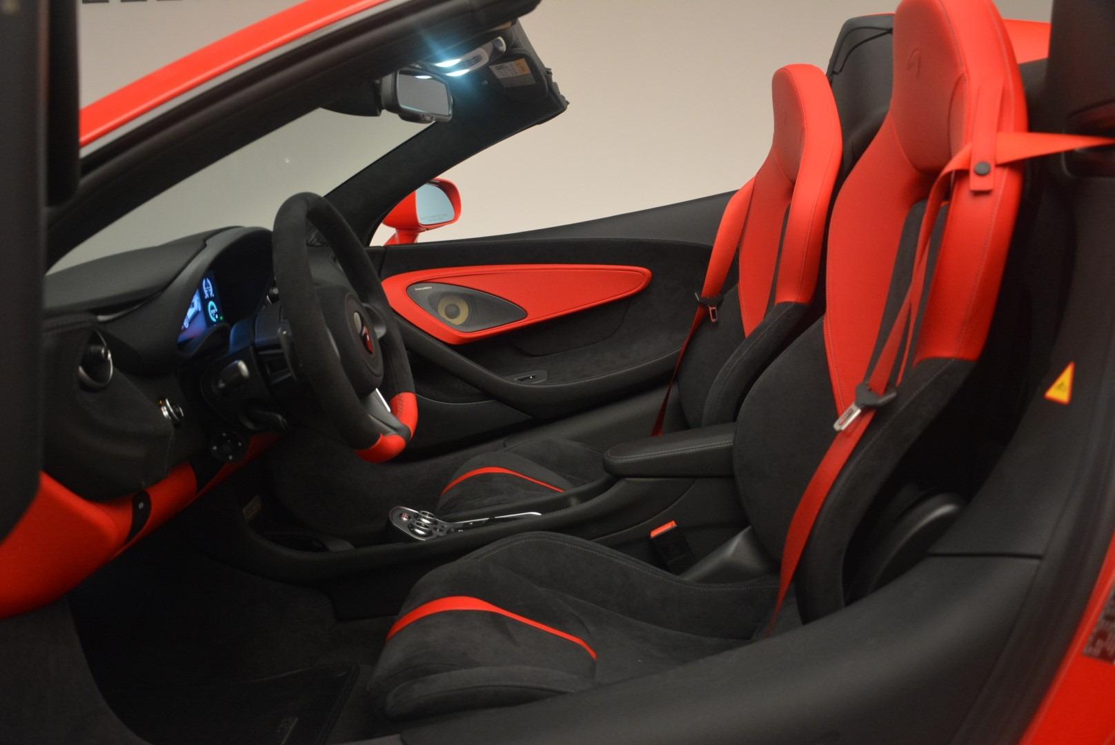New 2019 McLaren 570S Spider Convertible For Sale In Greenwich, CT. Alfa Romeo of Greenwich, MC375 2564_p23