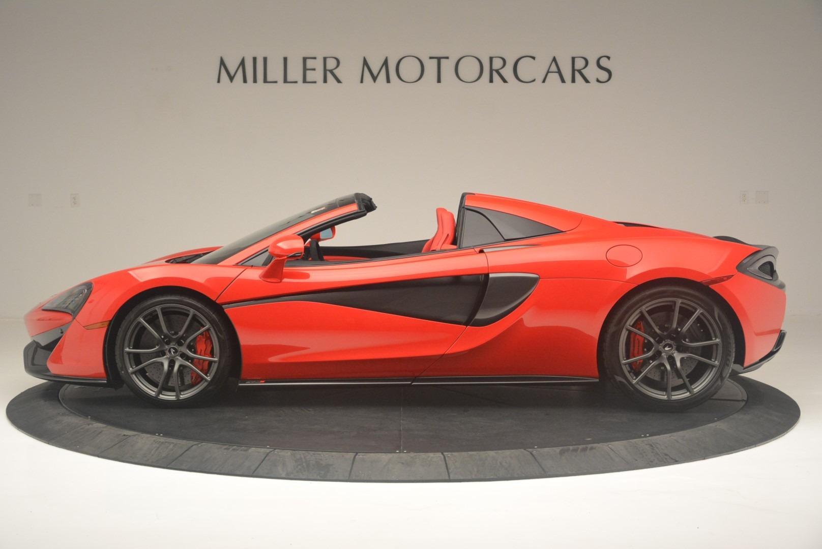 New 2019 McLaren 570S Spider Convertible For Sale In Greenwich, CT. Alfa Romeo of Greenwich, MC375 2564_p3