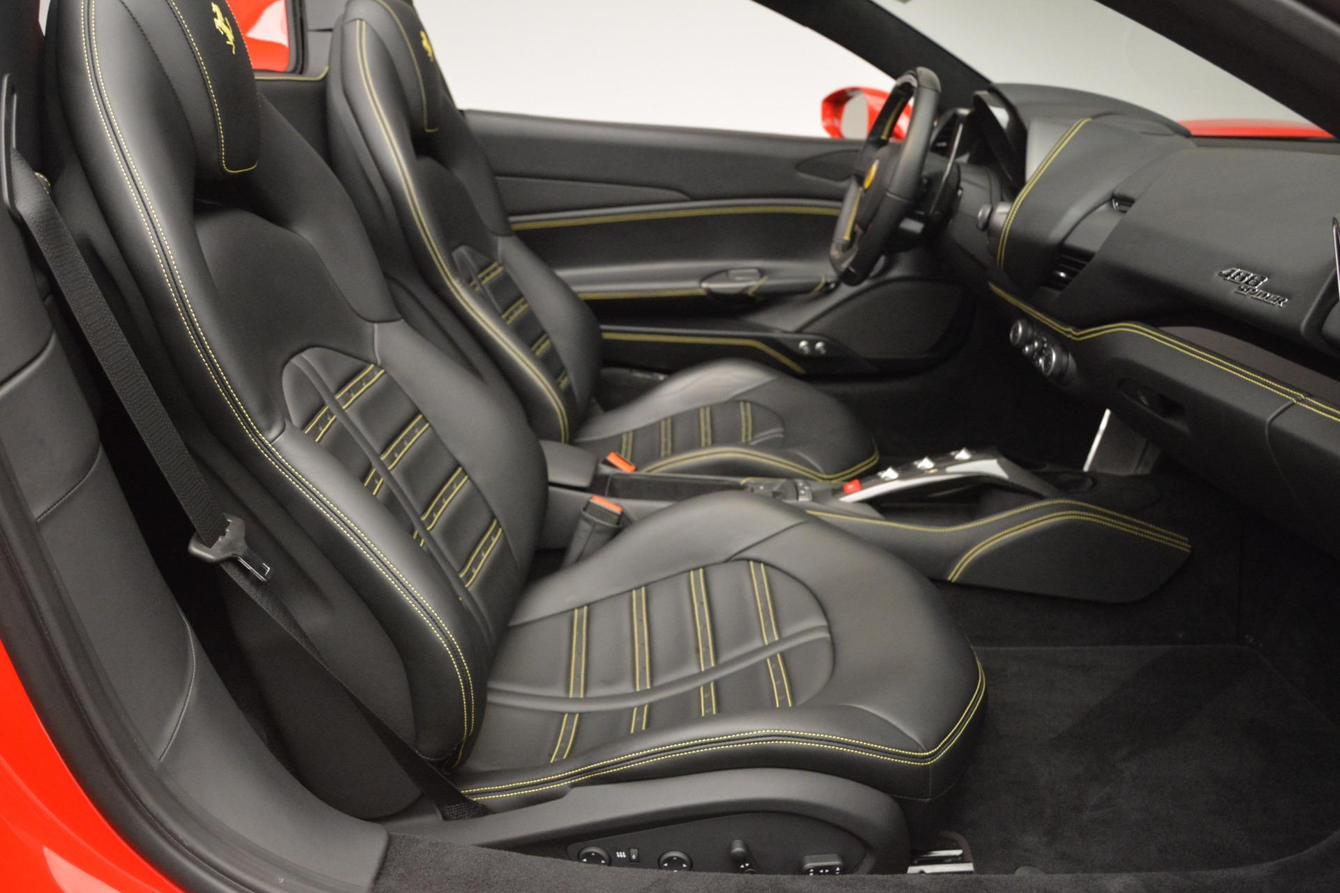 Used 2018 Ferrari 488 Spider  For Sale In Greenwich, CT. Alfa Romeo of Greenwich, 4508 2570_p30