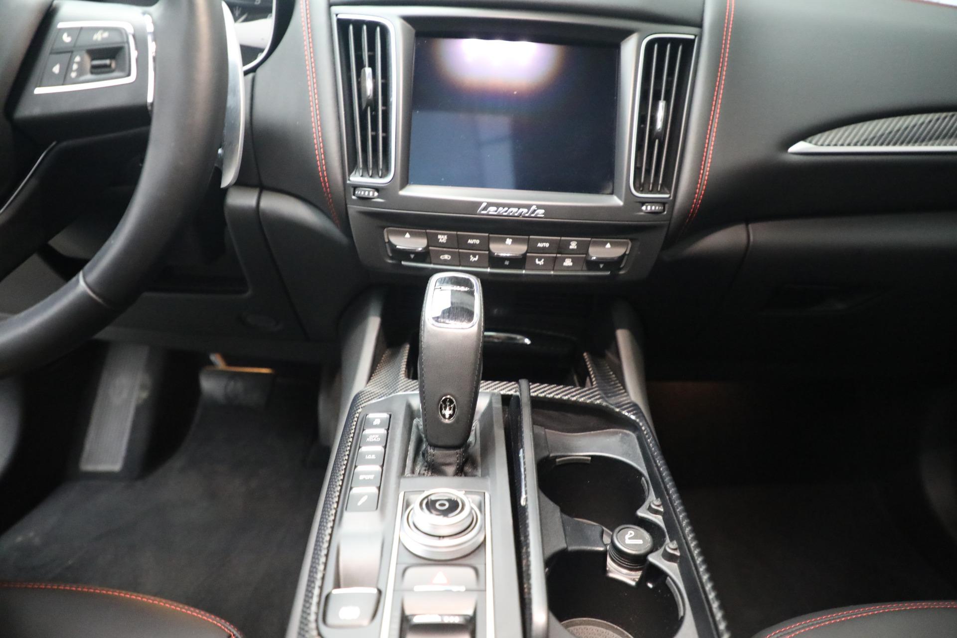 New 2019 Maserati Levante Q4 GranLusso For Sale In Greenwich, CT. Alfa Romeo of Greenwich, M2191 2574_p18