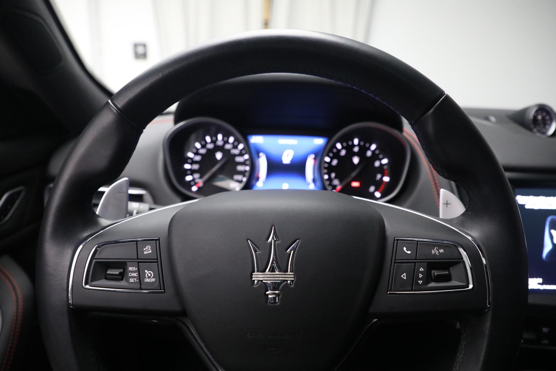 New 2019 Maserati Levante Q4 GranLusso For Sale In Greenwich, CT. Alfa Romeo of Greenwich, M2191 2574_p19