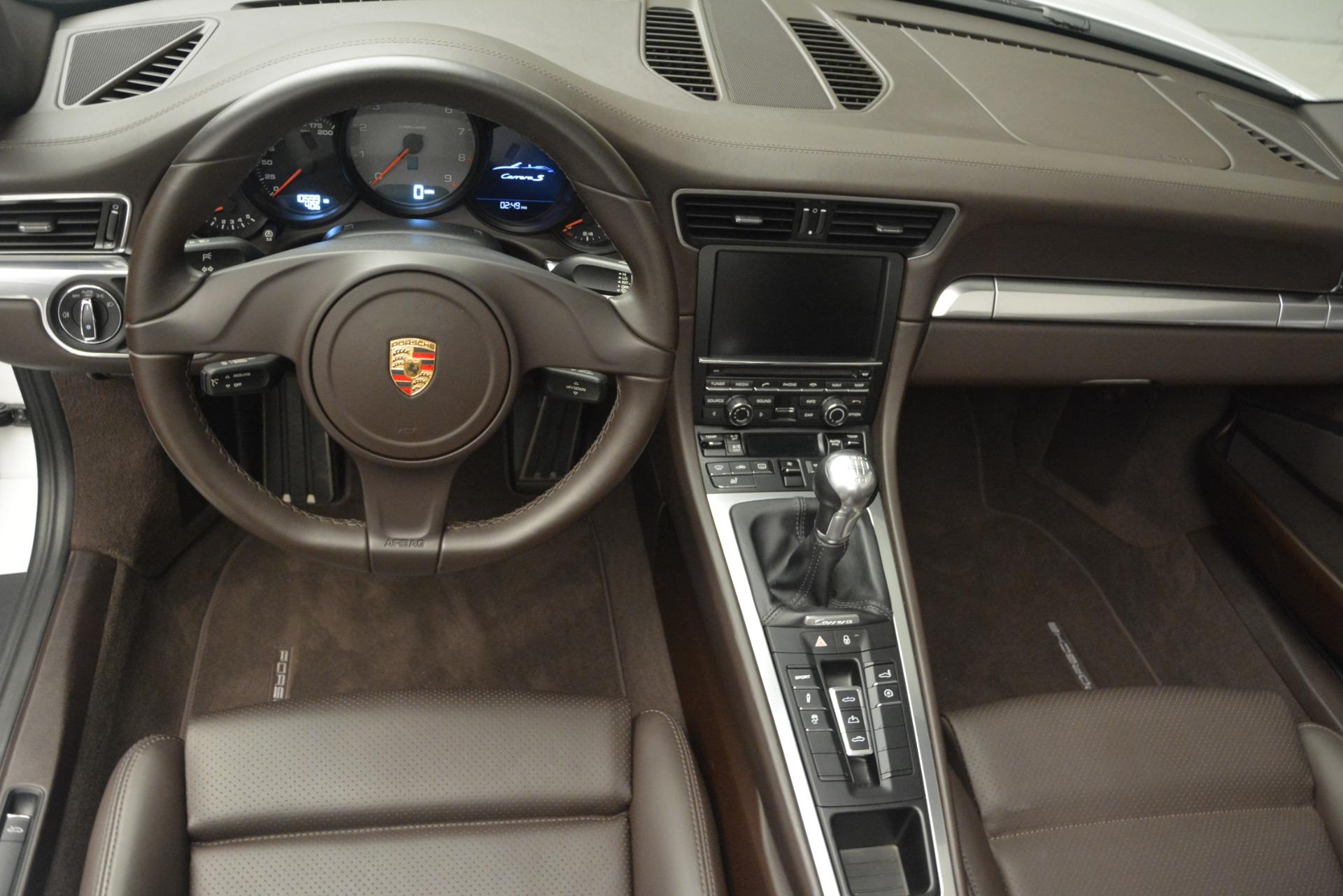 Used 2015 Porsche 911 Carrera S For Sale In Greenwich, CT. Alfa Romeo of Greenwich, 7431 2578_p15