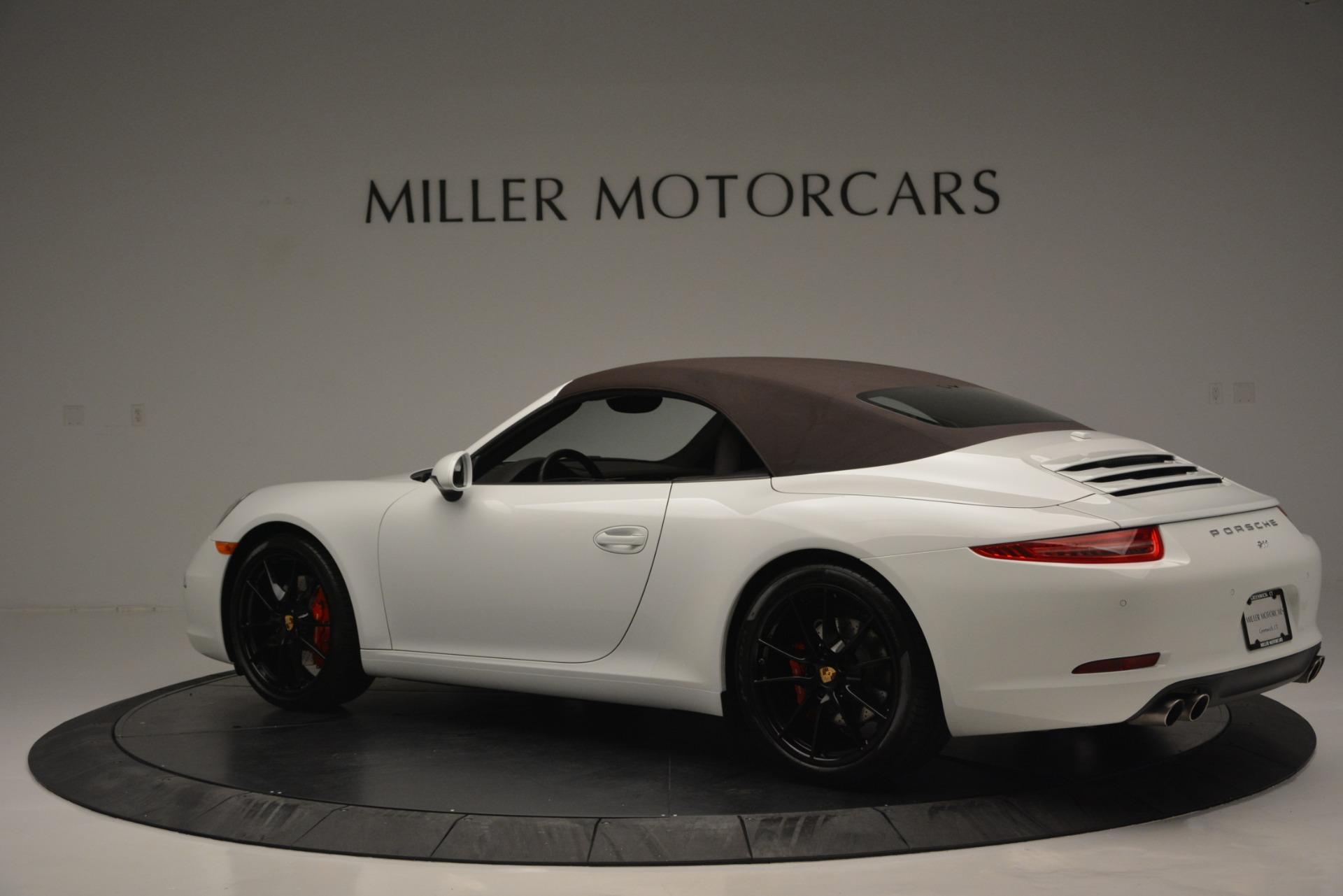 Used 2015 Porsche 911 Carrera S For Sale In Greenwich, CT. Alfa Romeo of Greenwich, 7431 2578_p31