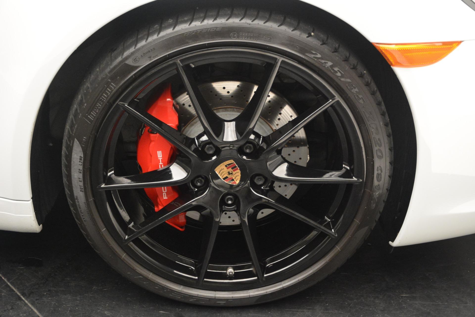 Used 2015 Porsche 911 Carrera S For Sale In Greenwich, CT. Alfa Romeo of Greenwich, 7431 2578_p32