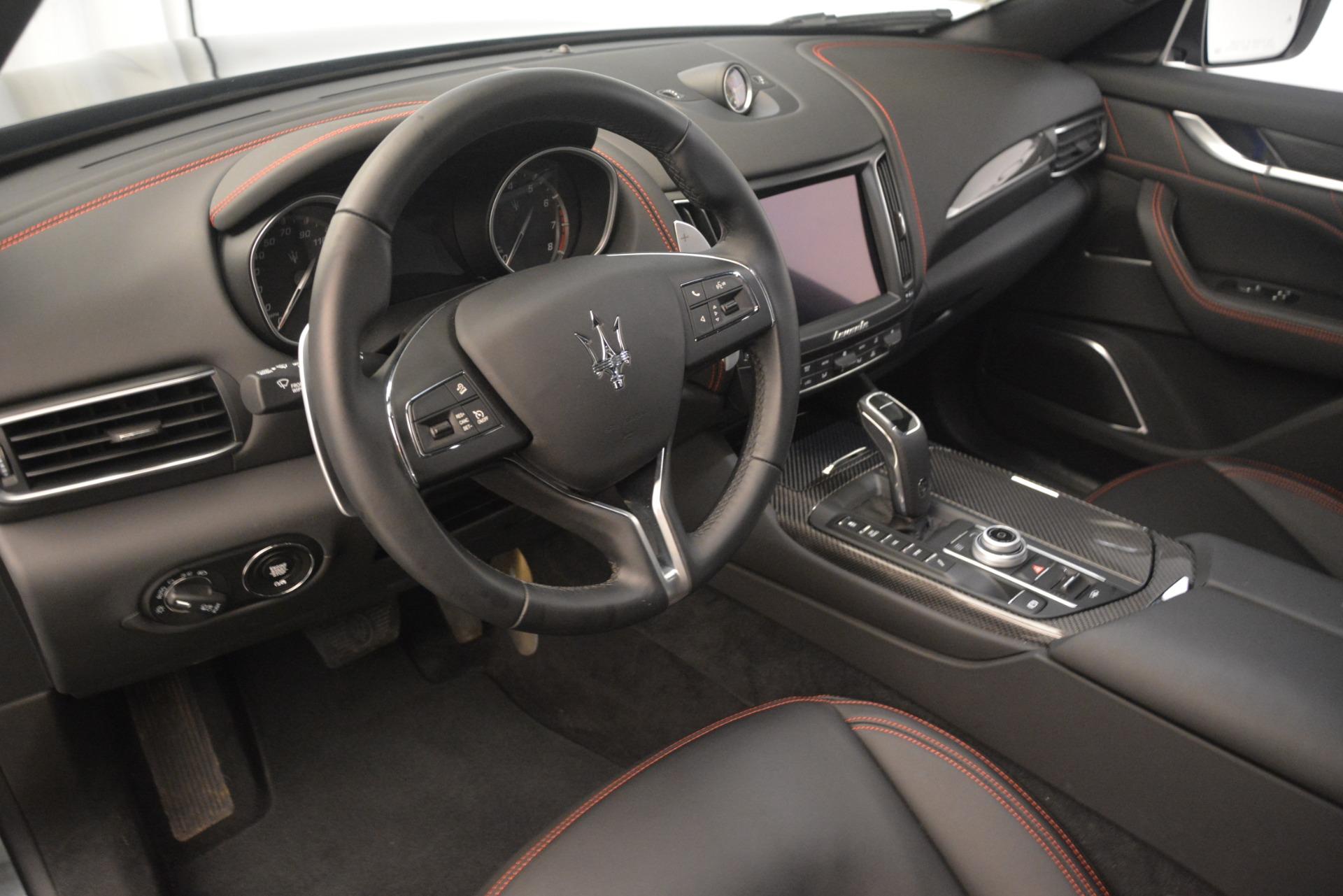 New 2019 Maserati Levante Q4 GranLusso For Sale In Greenwich, CT. Alfa Romeo of Greenwich, M2192 2580_p13