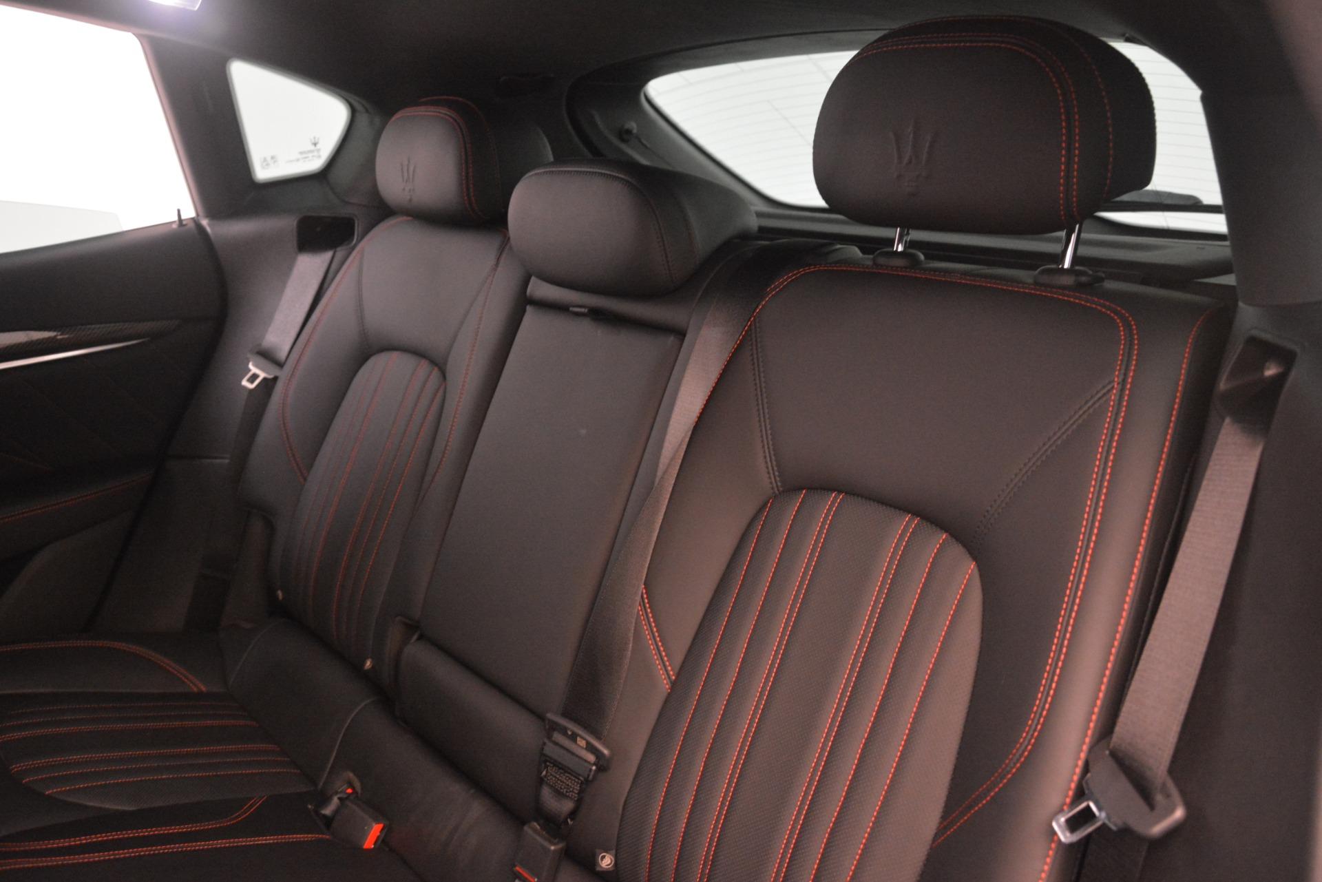 New 2019 Maserati Levante Q4 GranLusso For Sale In Greenwich, CT. Alfa Romeo of Greenwich, M2192 2580_p18