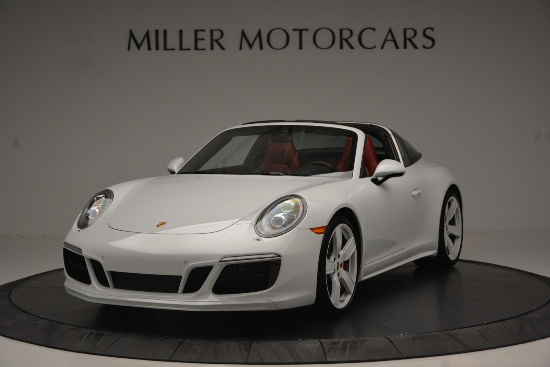 Used 2017 Porsche 911 Targa 4S For Sale In Greenwich, CT. Alfa Romeo of Greenwich, 7433 2593_main