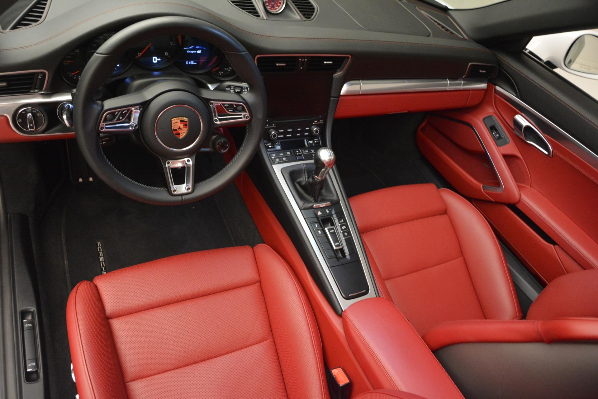 Used 2017 Porsche 911 Targa 4S For Sale In Greenwich, CT. Alfa Romeo of Greenwich, 7433 2593_p13