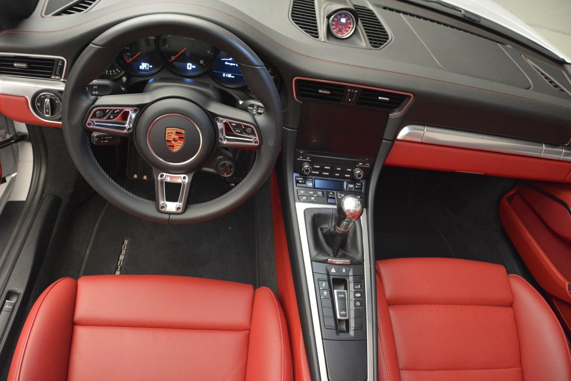 Used 2017 Porsche 911 Targa 4S For Sale In Greenwich, CT. Alfa Romeo of Greenwich, 7433 2593_p14