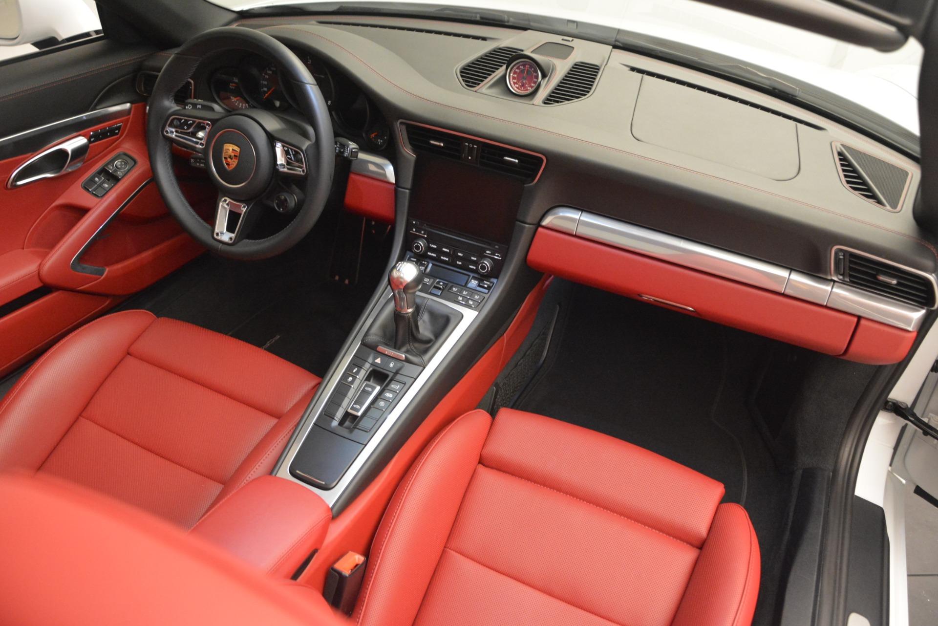 Used 2017 Porsche 911 Targa 4S For Sale In Greenwich, CT. Alfa Romeo of Greenwich, 7433 2593_p21