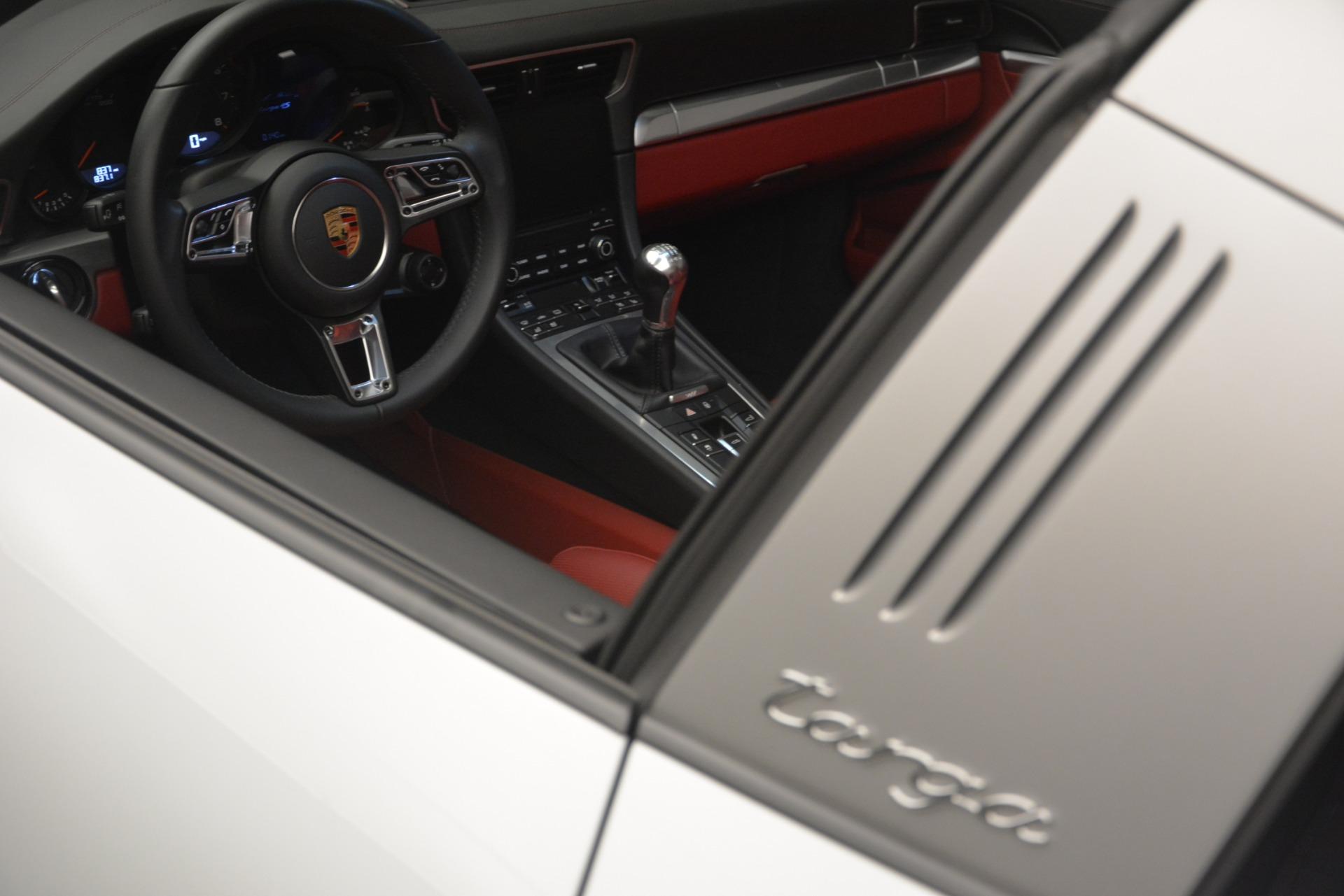 Used 2017 Porsche 911 Targa 4S For Sale In Greenwich, CT. Alfa Romeo of Greenwich, 7433 2593_p22