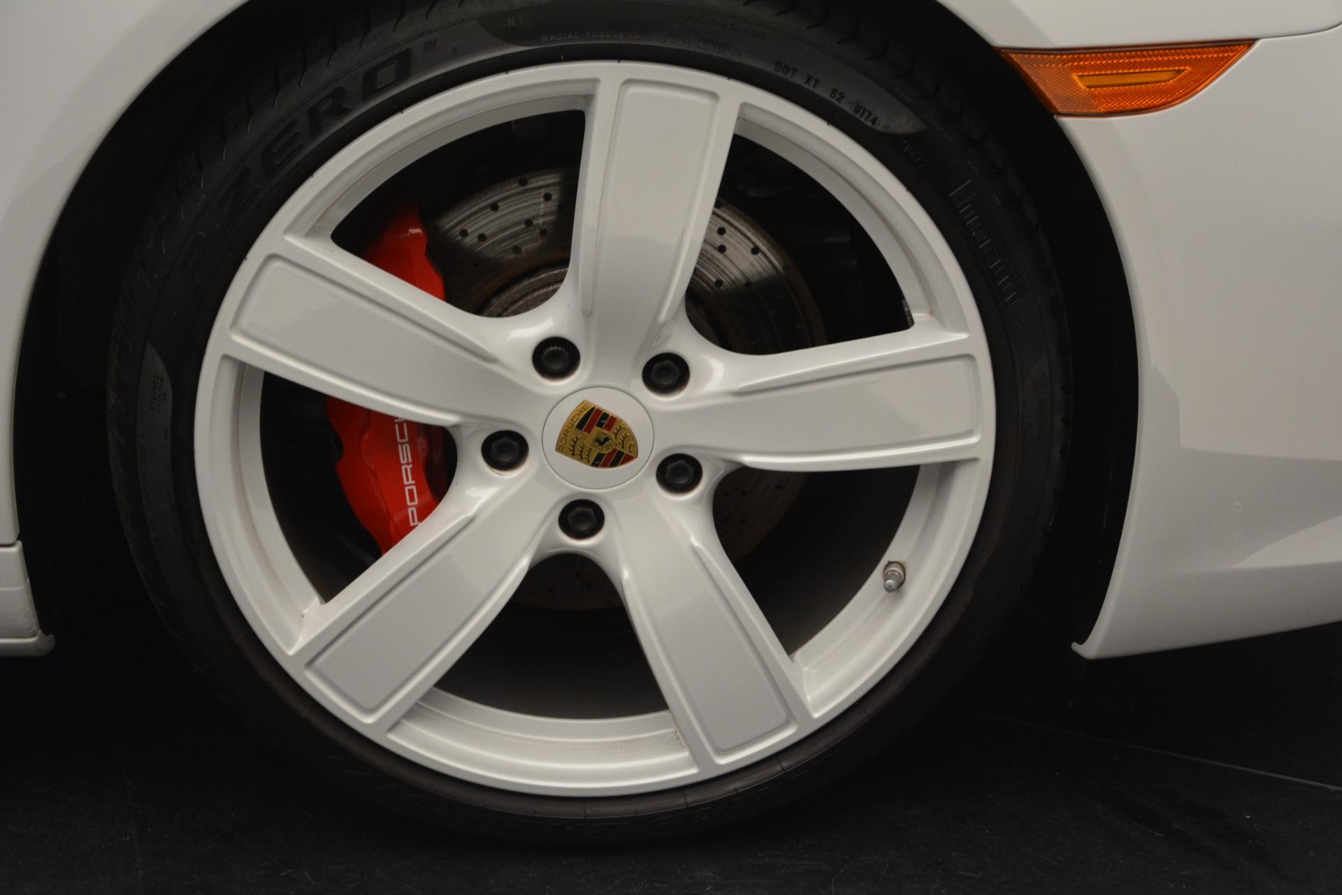 Used 2017 Porsche 911 Targa 4S For Sale In Greenwich, CT. Alfa Romeo of Greenwich, 7433 2593_p24