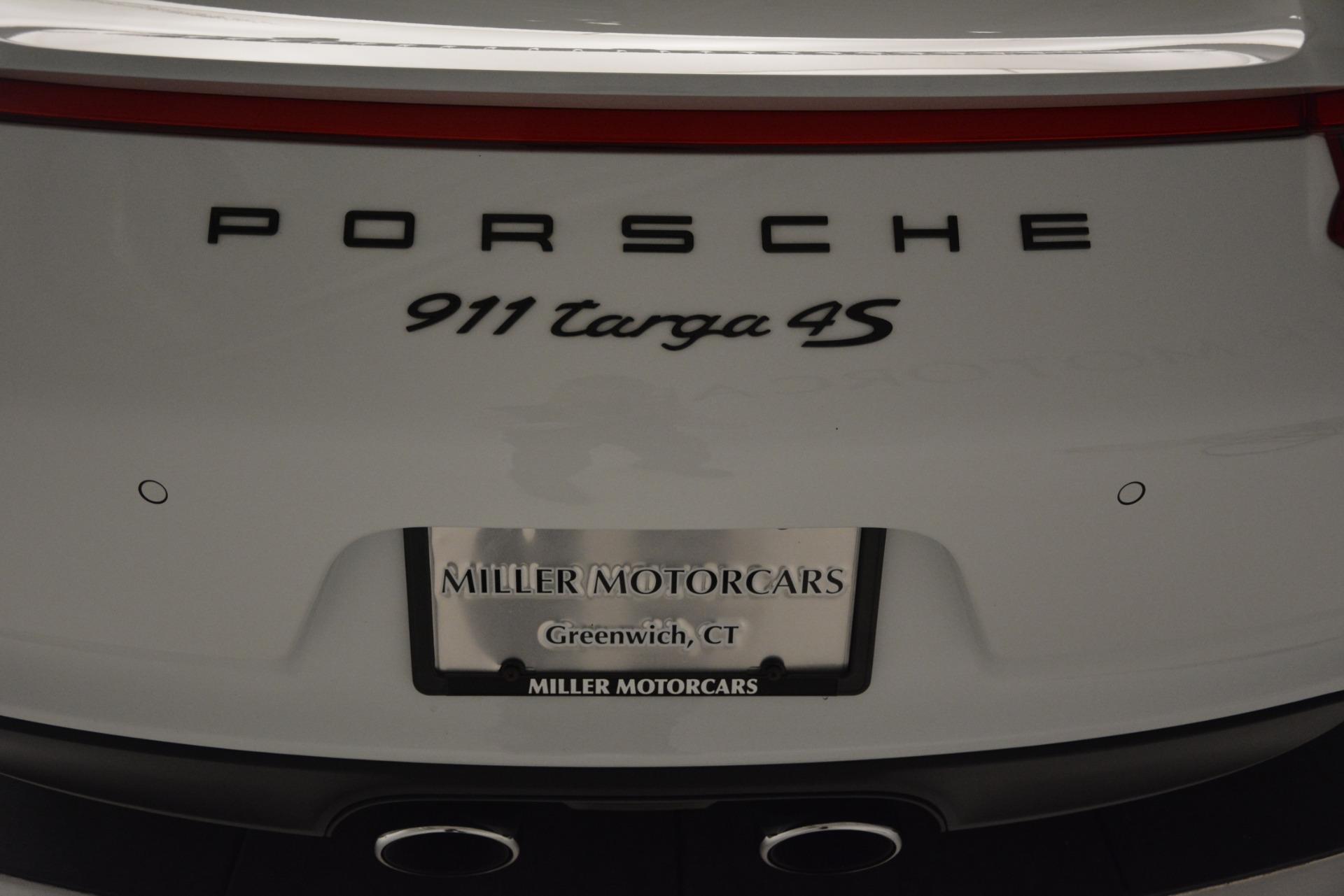 Used 2017 Porsche 911 Targa 4S For Sale In Greenwich, CT. Alfa Romeo of Greenwich, 7433 2593_p25
