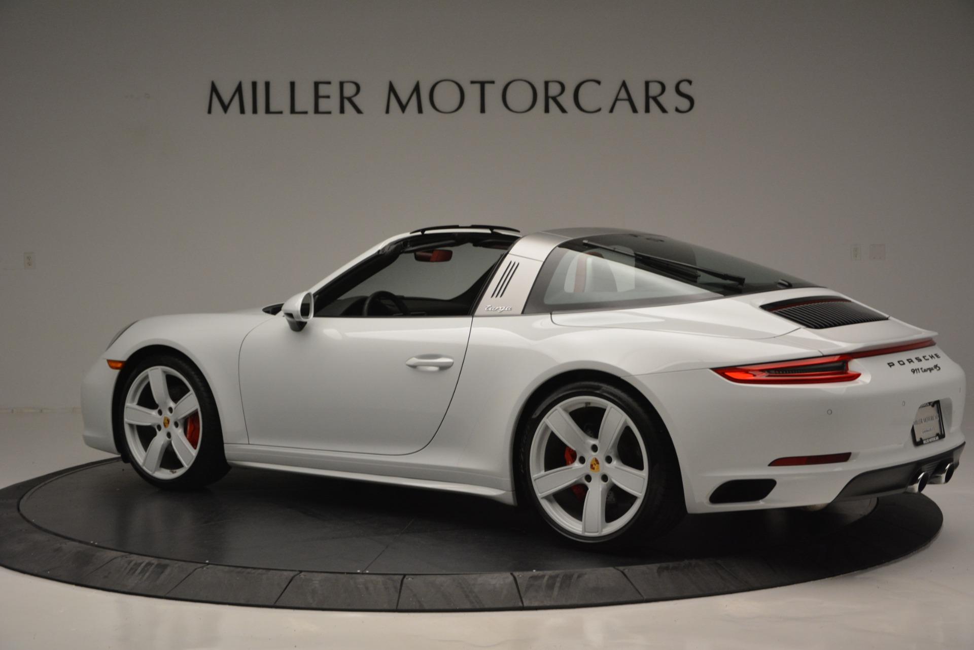 Used 2017 Porsche 911 Targa 4S For Sale In Greenwich, CT. Alfa Romeo of Greenwich, 7433 2593_p4