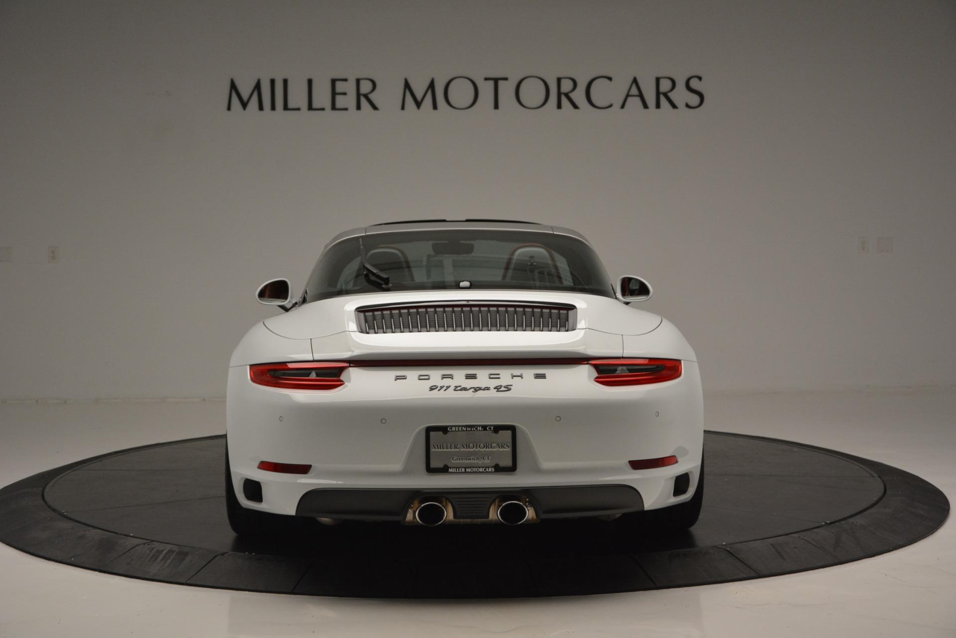 Used 2017 Porsche 911 Targa 4S For Sale In Greenwich, CT. Alfa Romeo of Greenwich, 7433 2593_p5