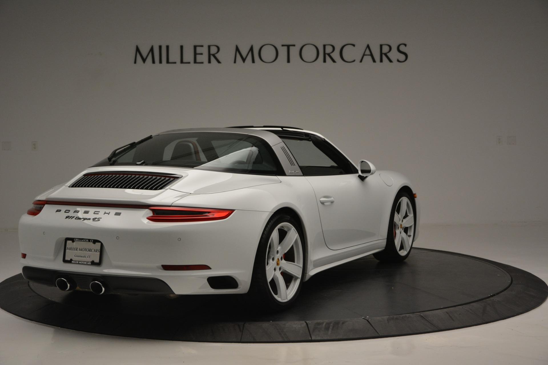 Used 2017 Porsche 911 Targa 4S For Sale In Greenwich, CT. Alfa Romeo of Greenwich, 7433 2593_p7