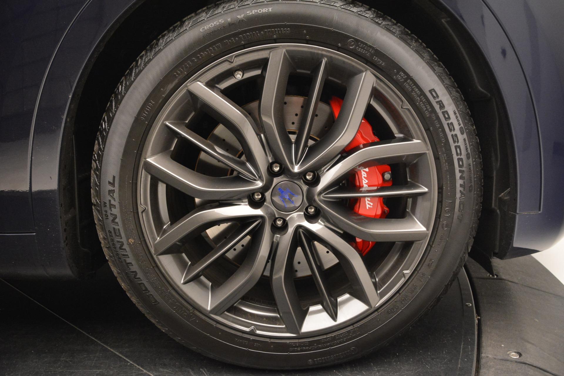 New 2019 Maserati Levante S Q4 GranSport For Sale In Greenwich, CT. Alfa Romeo of Greenwich, W618 2603_p26