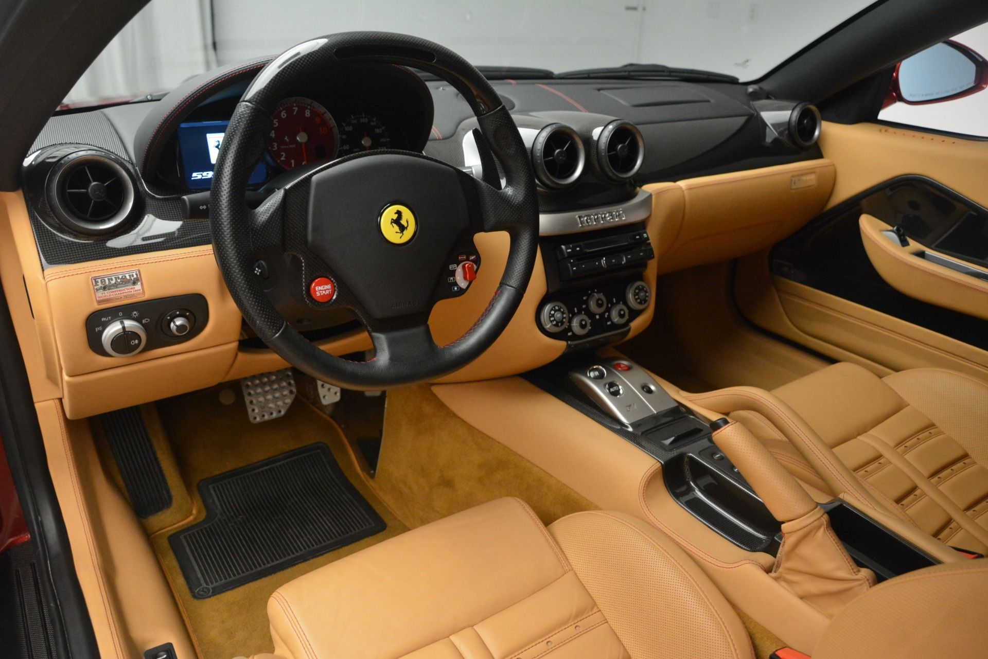Used 2009 Ferrari 599 GTB Fiorano  For Sale In Greenwich, CT. Alfa Romeo of Greenwich, 4502A 2617_p13