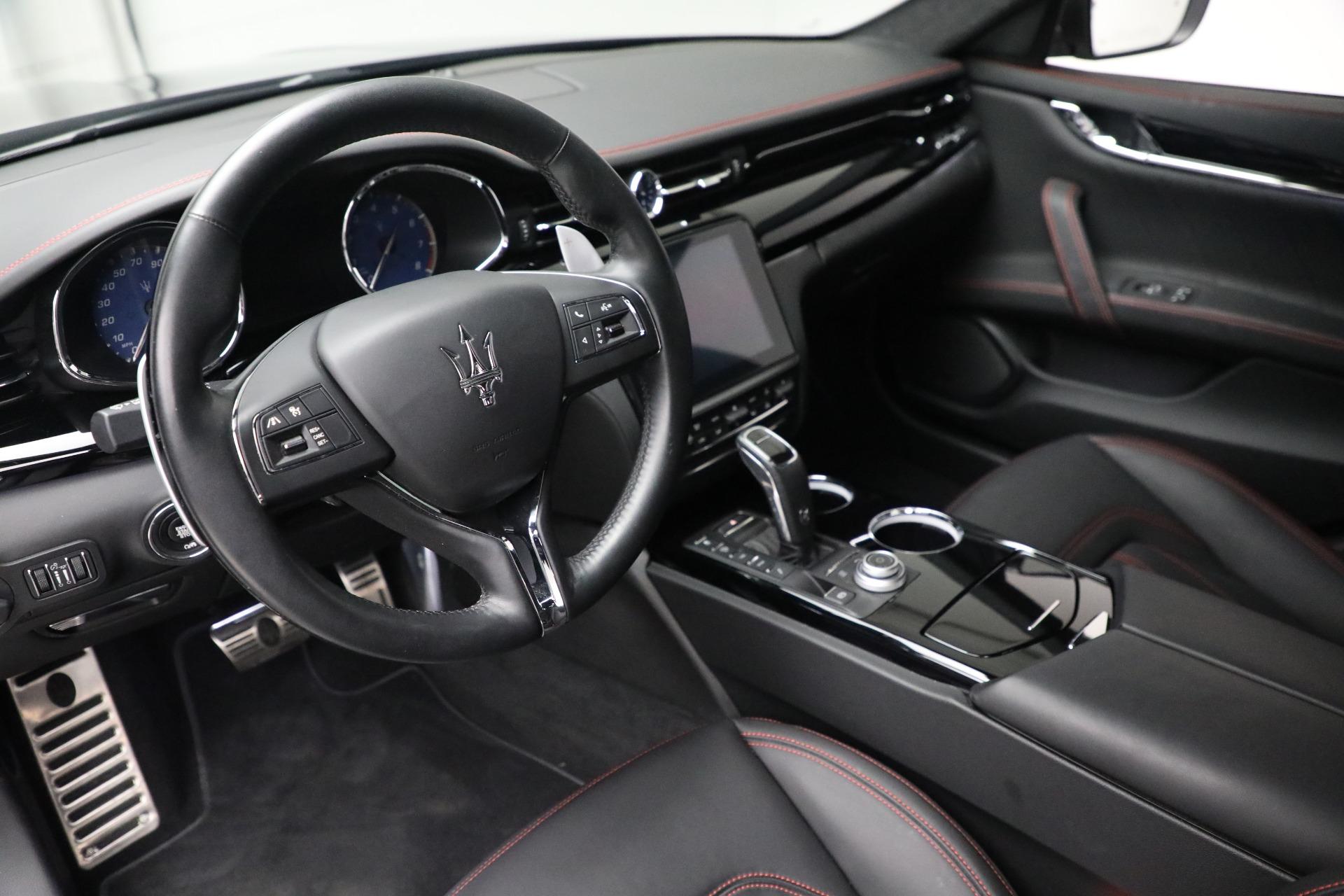 New 2019 Maserati Quattroporte S Q4 GranLusso For Sale In Greenwich, CT. Alfa Romeo of Greenwich, M2197 2619_p14