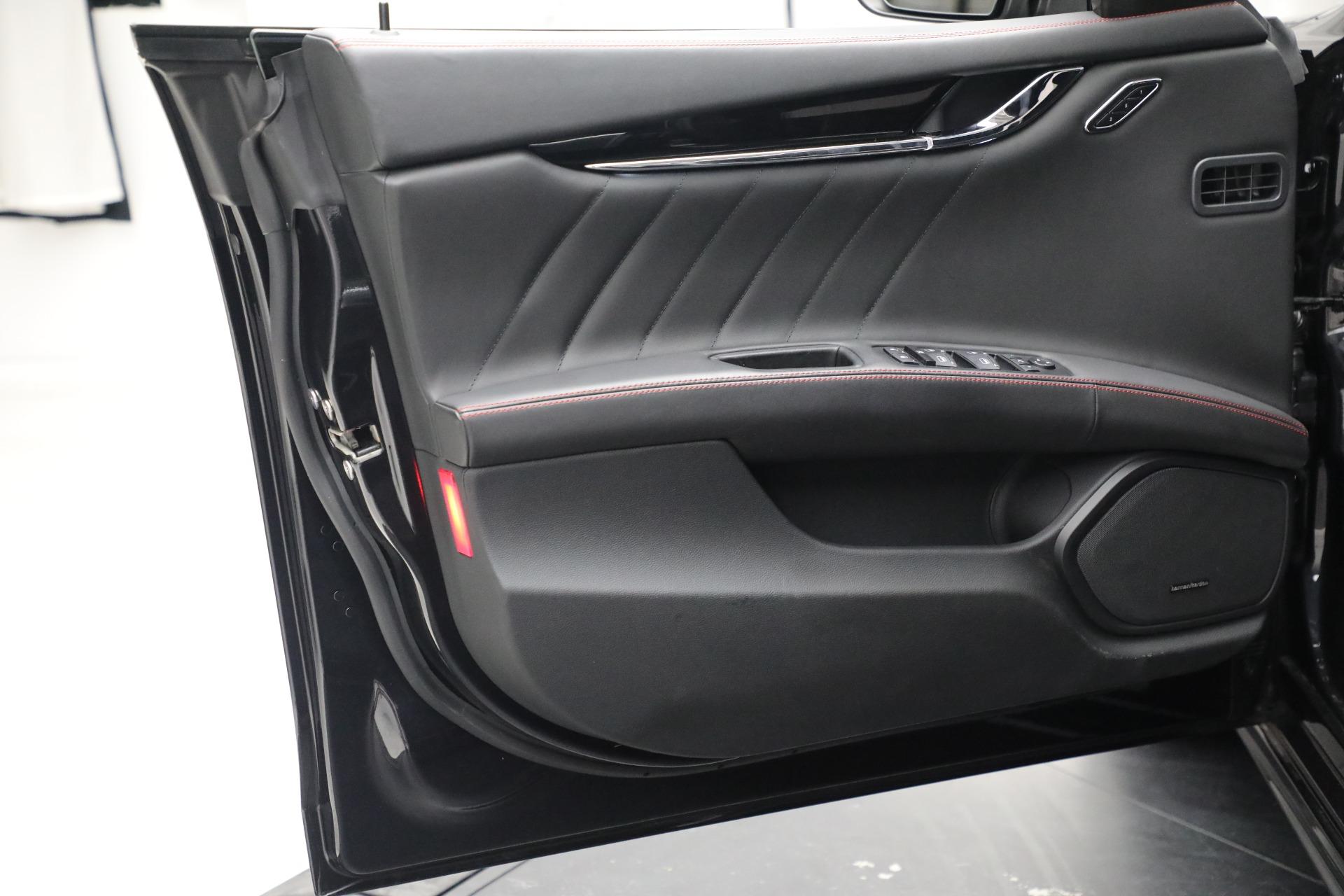 New 2019 Maserati Quattroporte S Q4 GranLusso For Sale In Greenwich, CT. Alfa Romeo of Greenwich, M2197 2619_p21