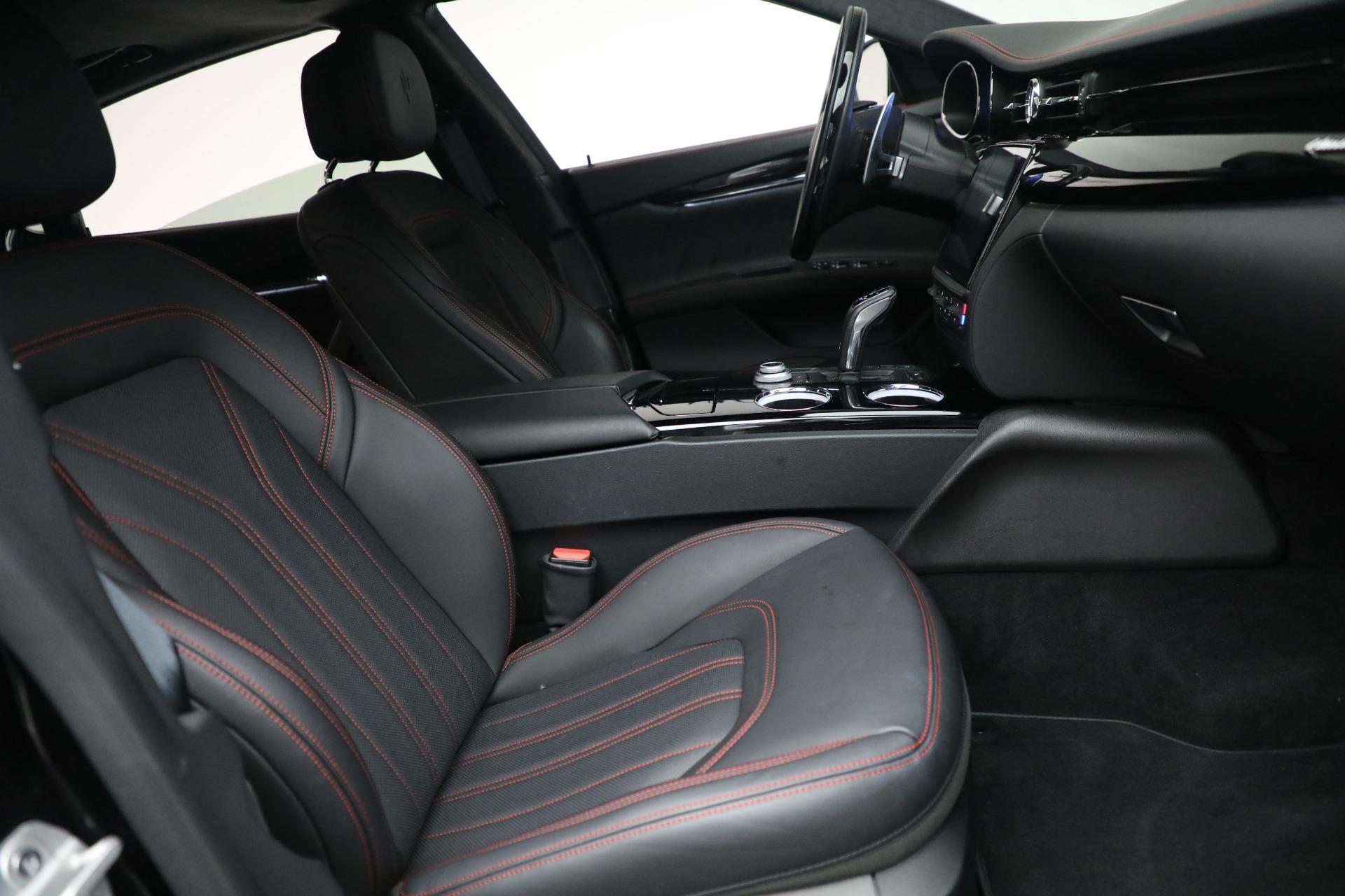 New 2019 Maserati Quattroporte S Q4 GranLusso For Sale In Greenwich, CT. Alfa Romeo of Greenwich, M2197 2619_p27