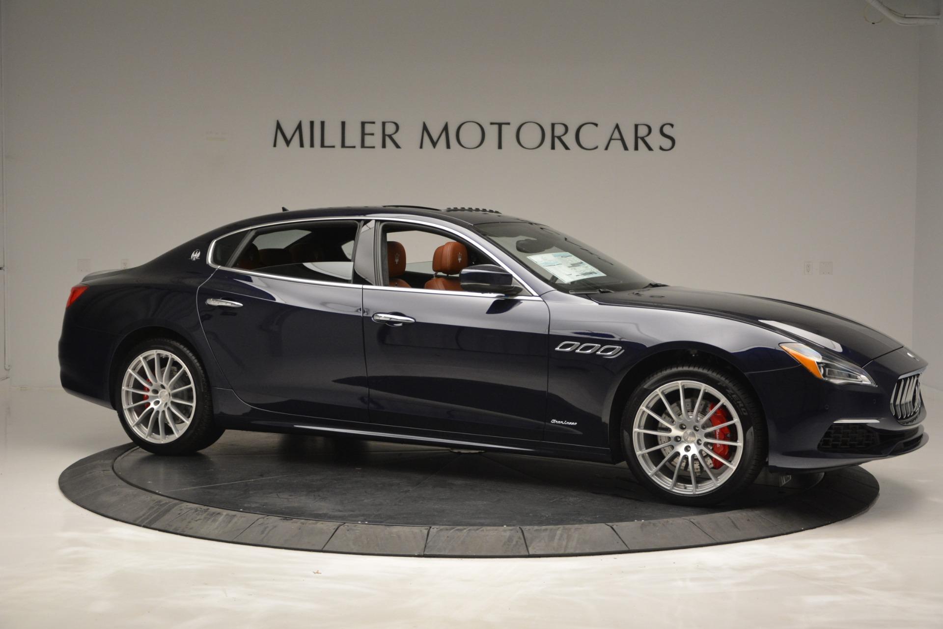 New 2019 Maserati Quattroporte S Q4 GranLusso For Sale $126755 In Greenwich, CT 2620_p10