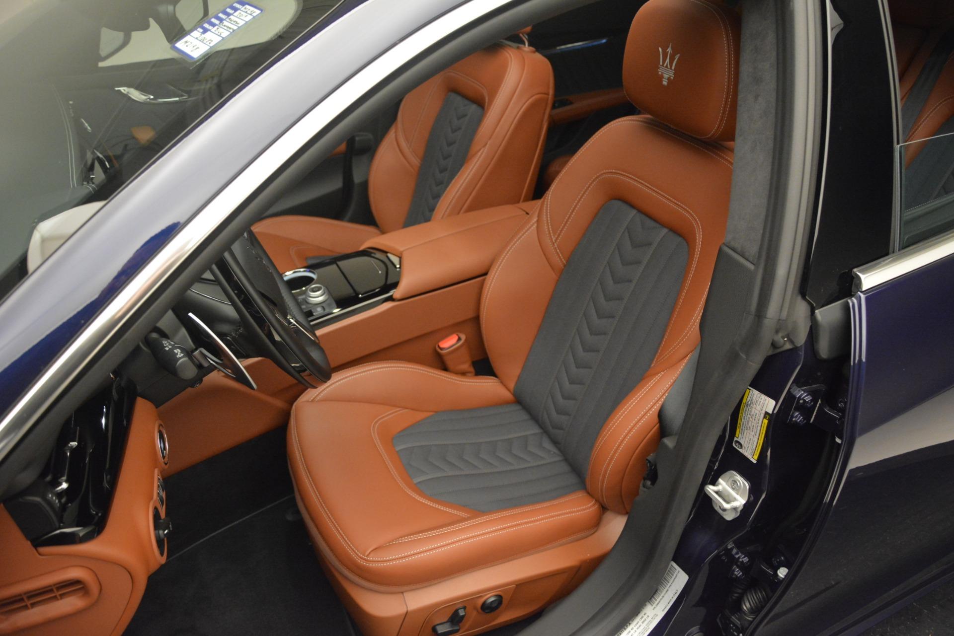 New 2019 Maserati Quattroporte S Q4 GranLusso For Sale $126755 In Greenwich, CT 2620_p13
