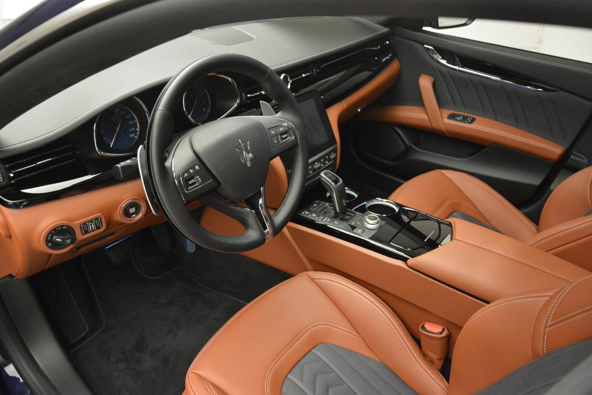 New 2019 Maserati Quattroporte S Q4 GranLusso For Sale $126755 In Greenwich, CT 2620_p14