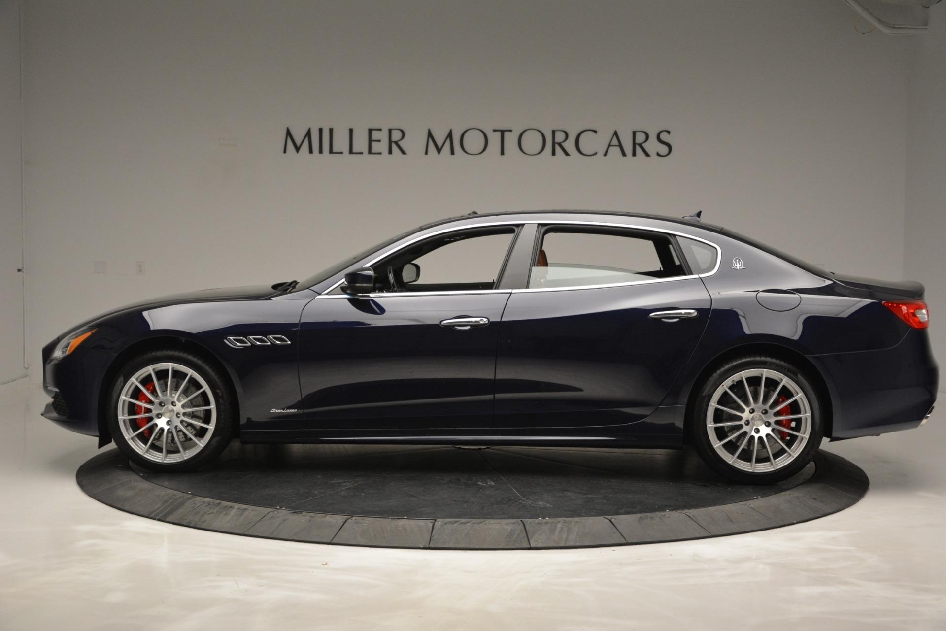 New 2019 Maserati Quattroporte S Q4 GranLusso For Sale $126755 In Greenwich, CT 2620_p3