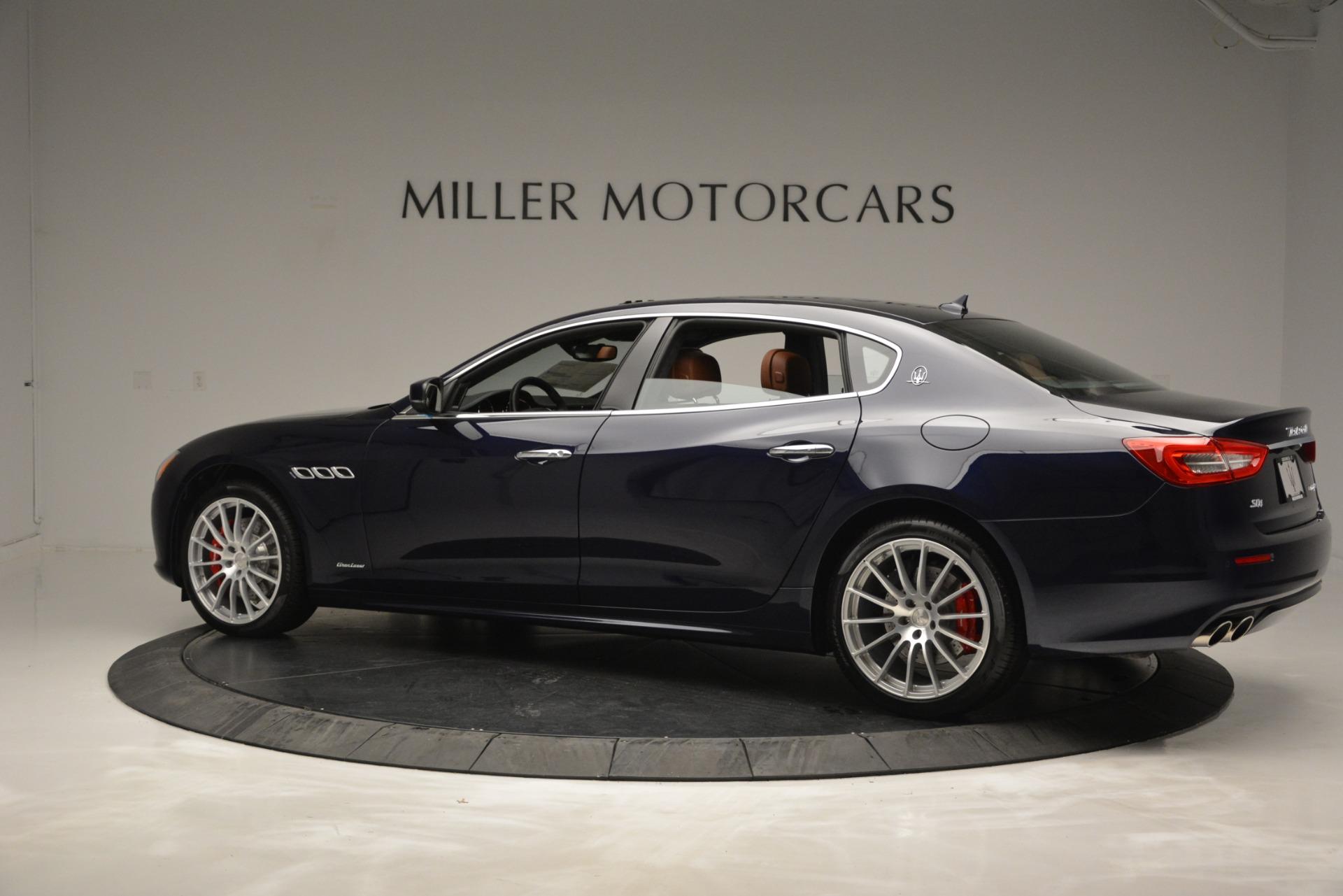 New 2019 Maserati Quattroporte S Q4 GranLusso For Sale $126755 In Greenwich, CT 2620_p4