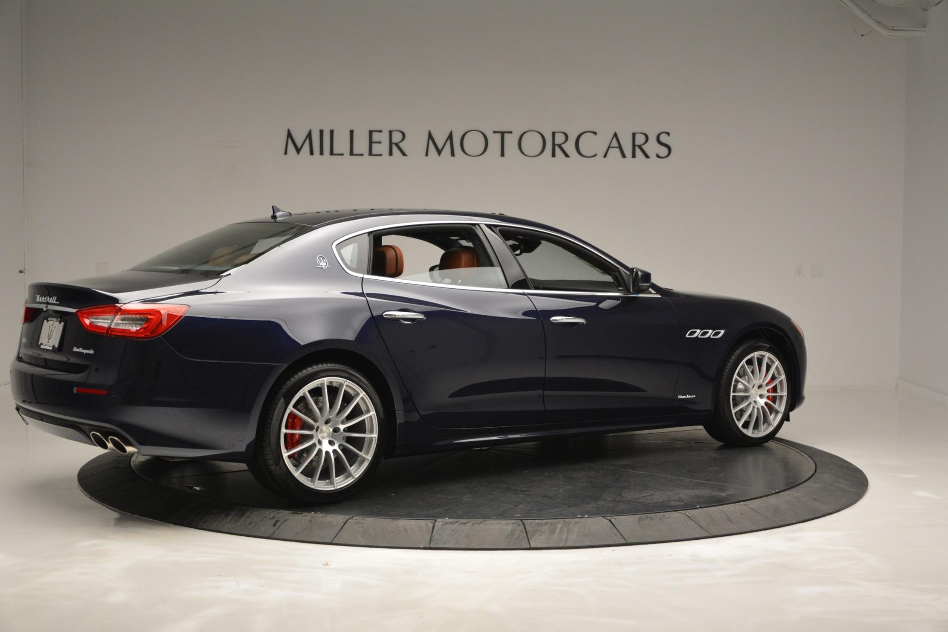 New 2019 Maserati Quattroporte S Q4 GranLusso For Sale $126755 In Greenwich, CT 2620_p8