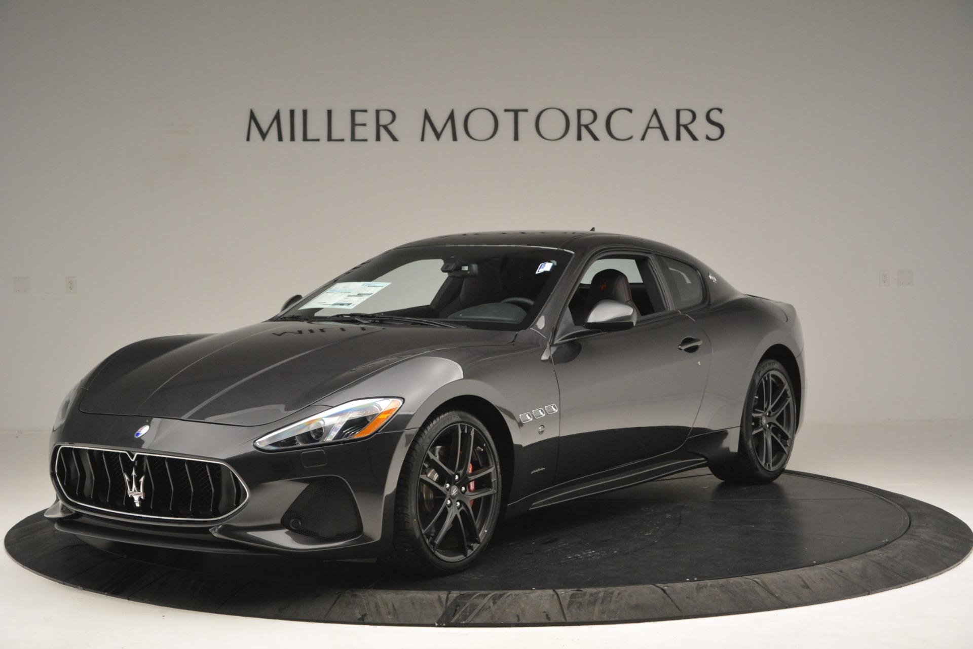 New 2018 Maserati GranTurismo Sport For Sale In Greenwich, CT. Alfa Romeo of Greenwich, M2199 2621_main