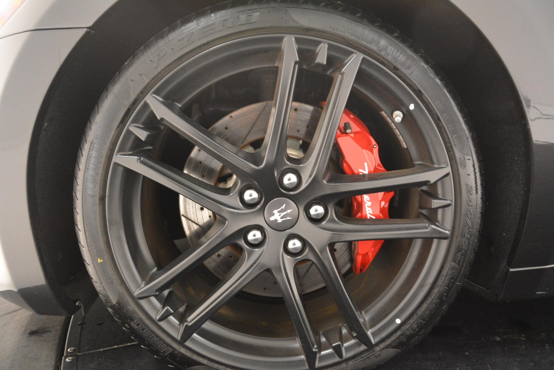 New 2018 Maserati GranTurismo Sport For Sale In Greenwich, CT. Alfa Romeo of Greenwich, M2199 2621_p23