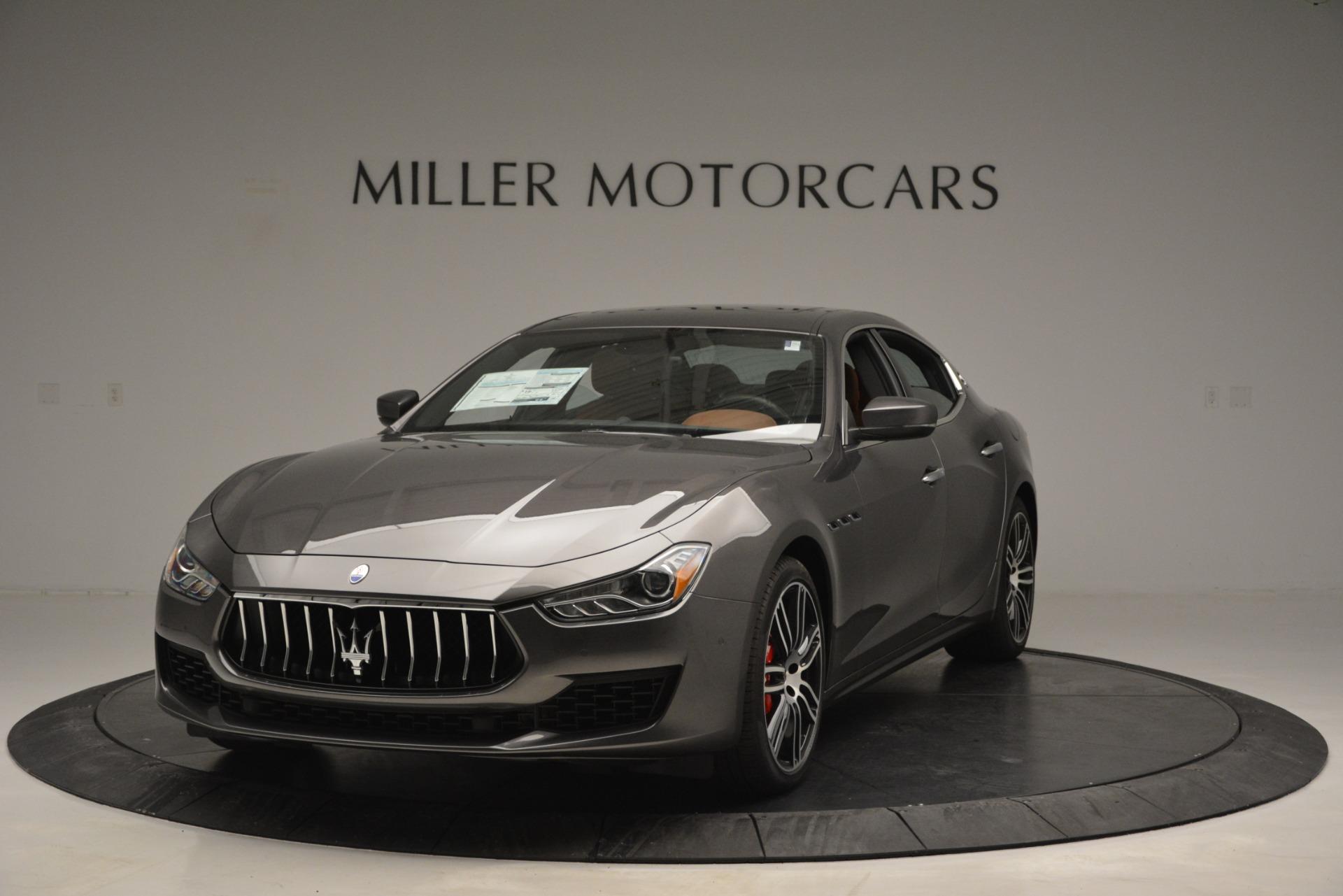 New 2019 Maserati Ghibli S Q4 For Sale In Greenwich, CT. Alfa Romeo of Greenwich, M2202 2623_main