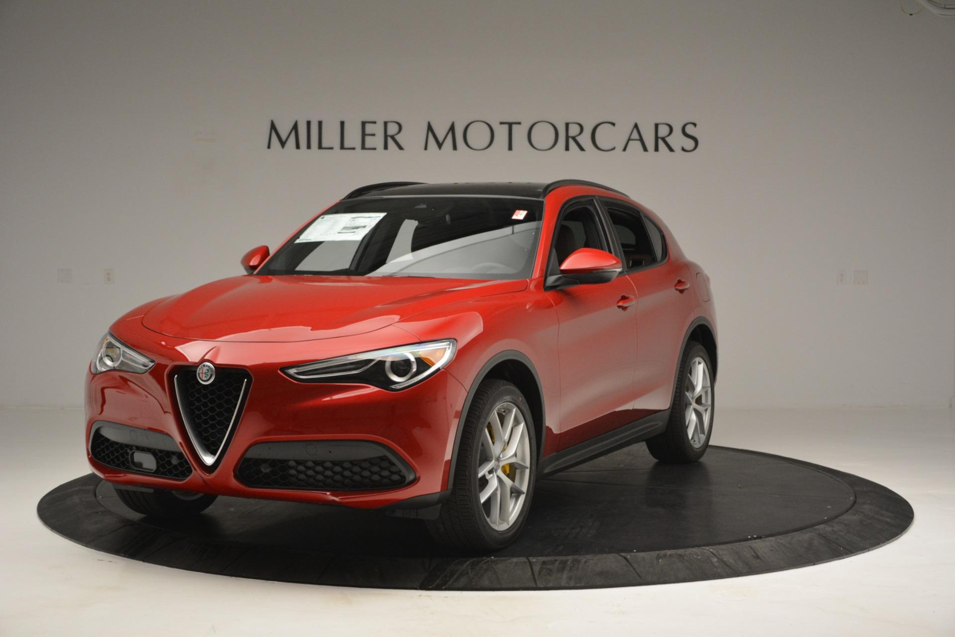 New 2018 Alfa Romeo Stelvio Ti Sport Q4 For Sale In Greenwich, CT. Alfa Romeo of Greenwich, L484 2628_main