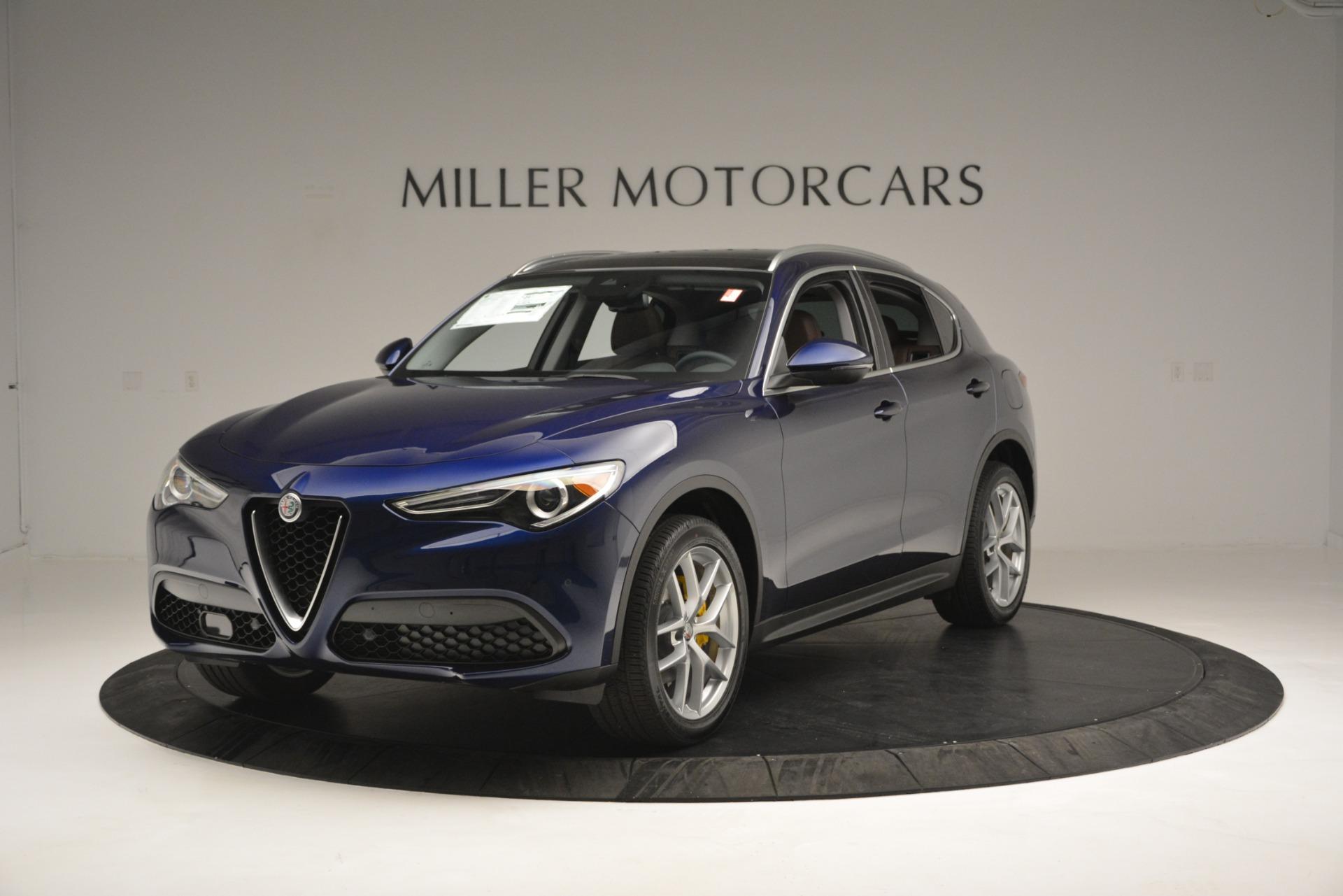 New 2018 Alfa Romeo Stelvio Ti Lusso Q4 For Sale In Greenwich, CT. Alfa Romeo of Greenwich, LW242 2631_main