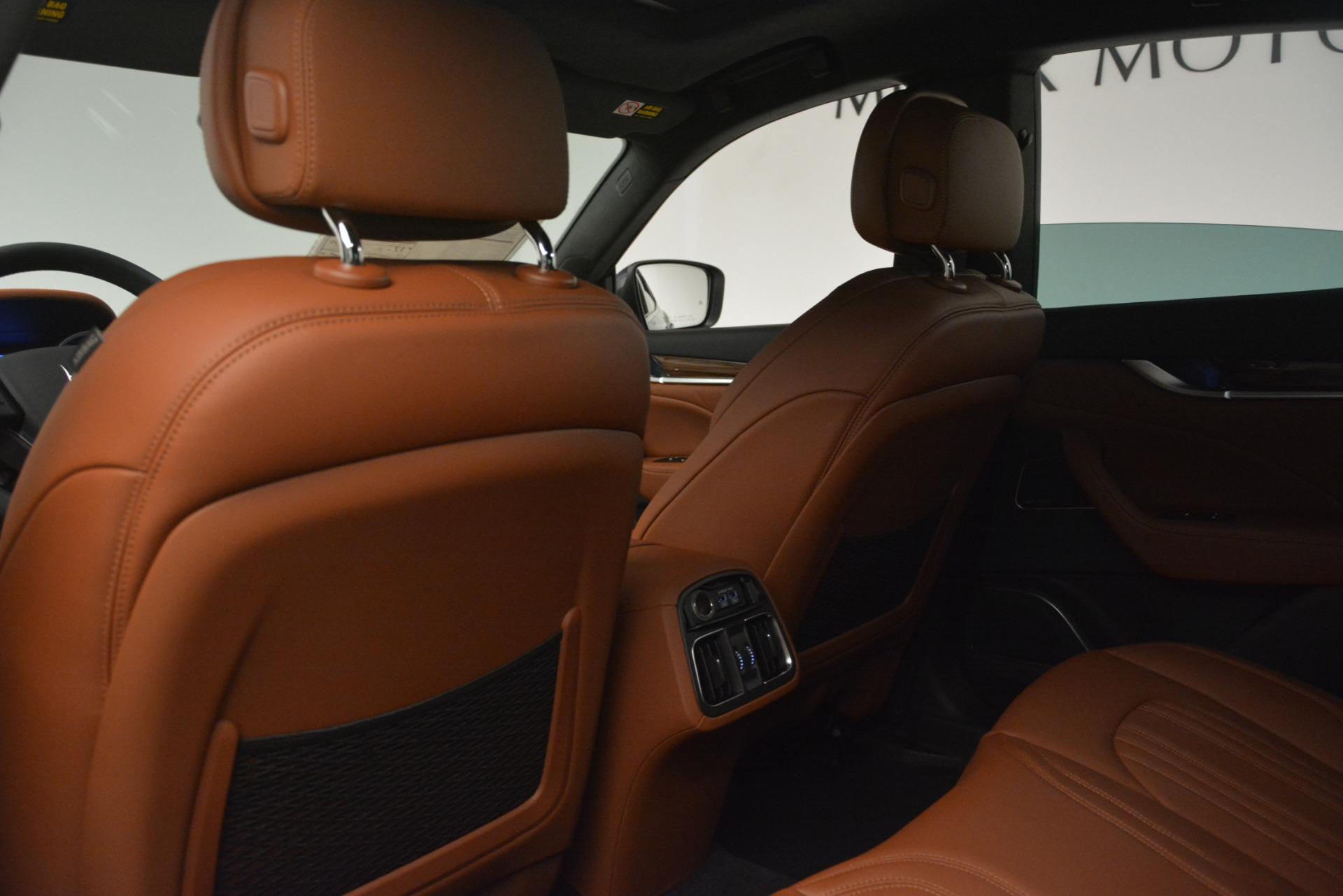Used 2019 Maserati Levante Q4 GranLusso For Sale In Greenwich, CT. Alfa Romeo of Greenwich, M2208 2636_p17
