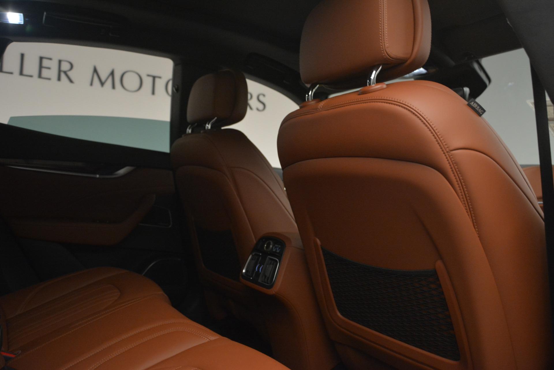 Used 2019 Maserati Levante Q4 GranLusso For Sale In Greenwich, CT. Alfa Romeo of Greenwich, M2208 2636_p23