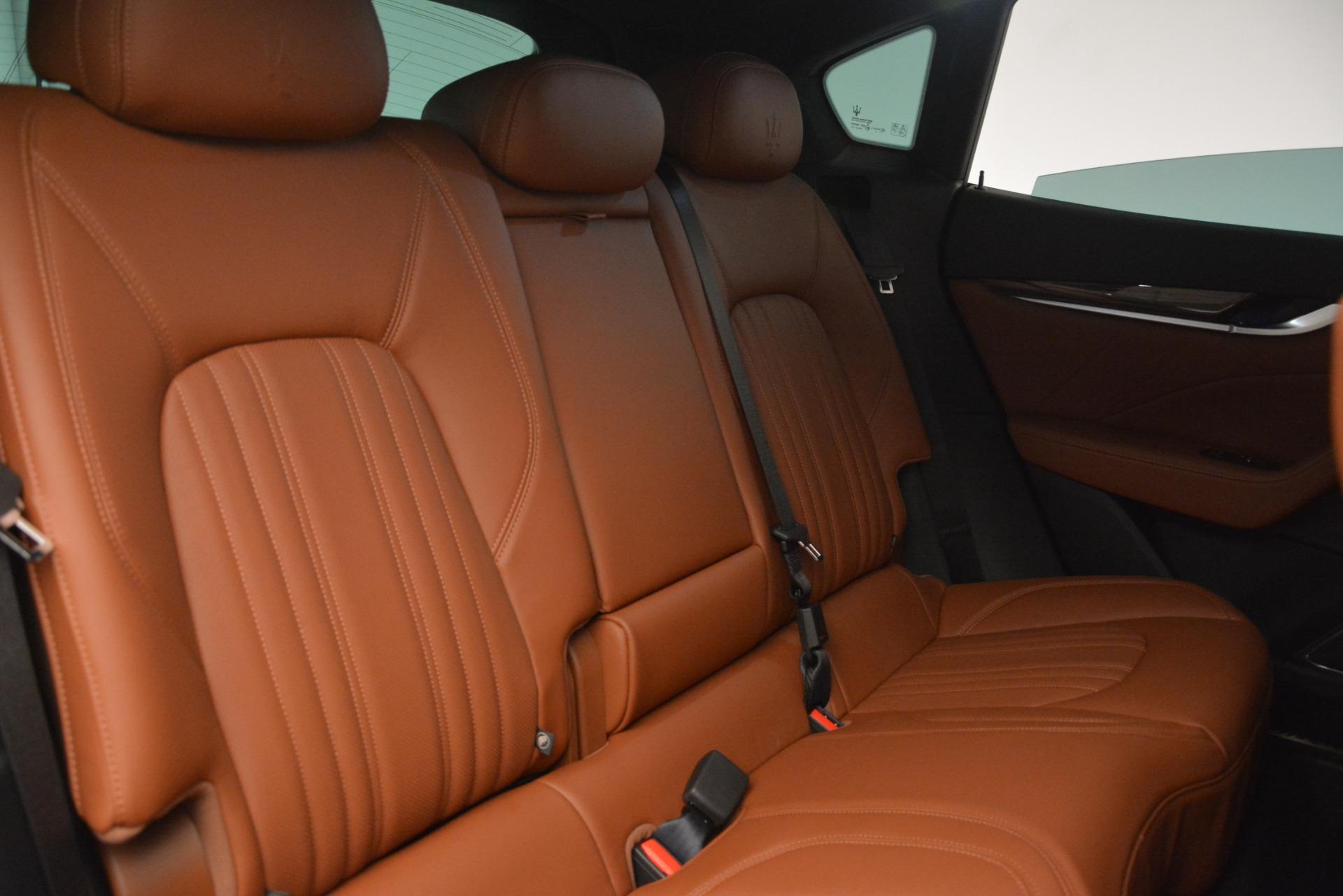 Used 2019 Maserati Levante Q4 GranLusso For Sale In Greenwich, CT. Alfa Romeo of Greenwich, M2208 2636_p25