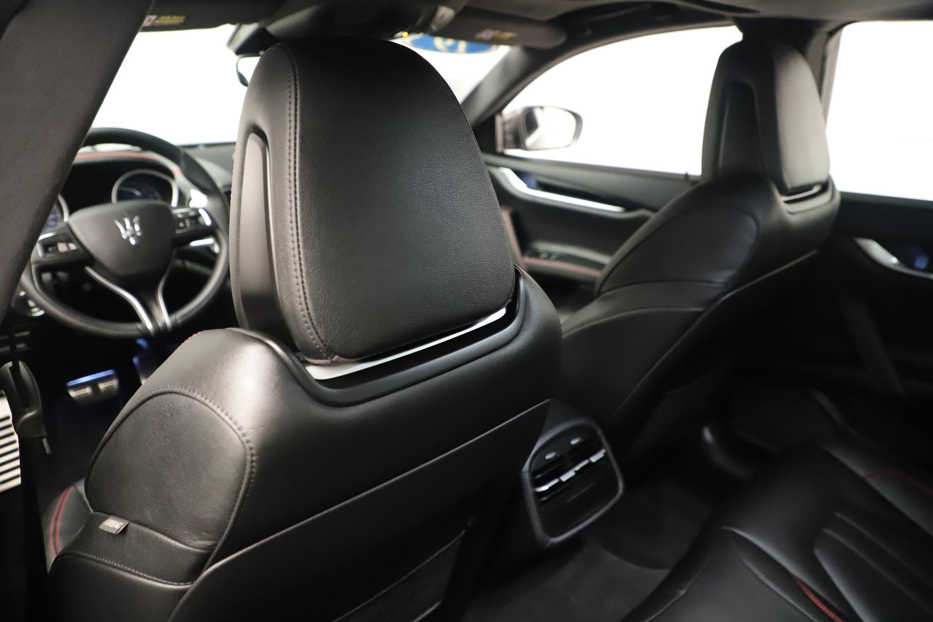 New 2019 Maserati Ghibli S Q4 GranSport For Sale In Greenwich, CT. Alfa Romeo of Greenwich, M2204 2640_p20