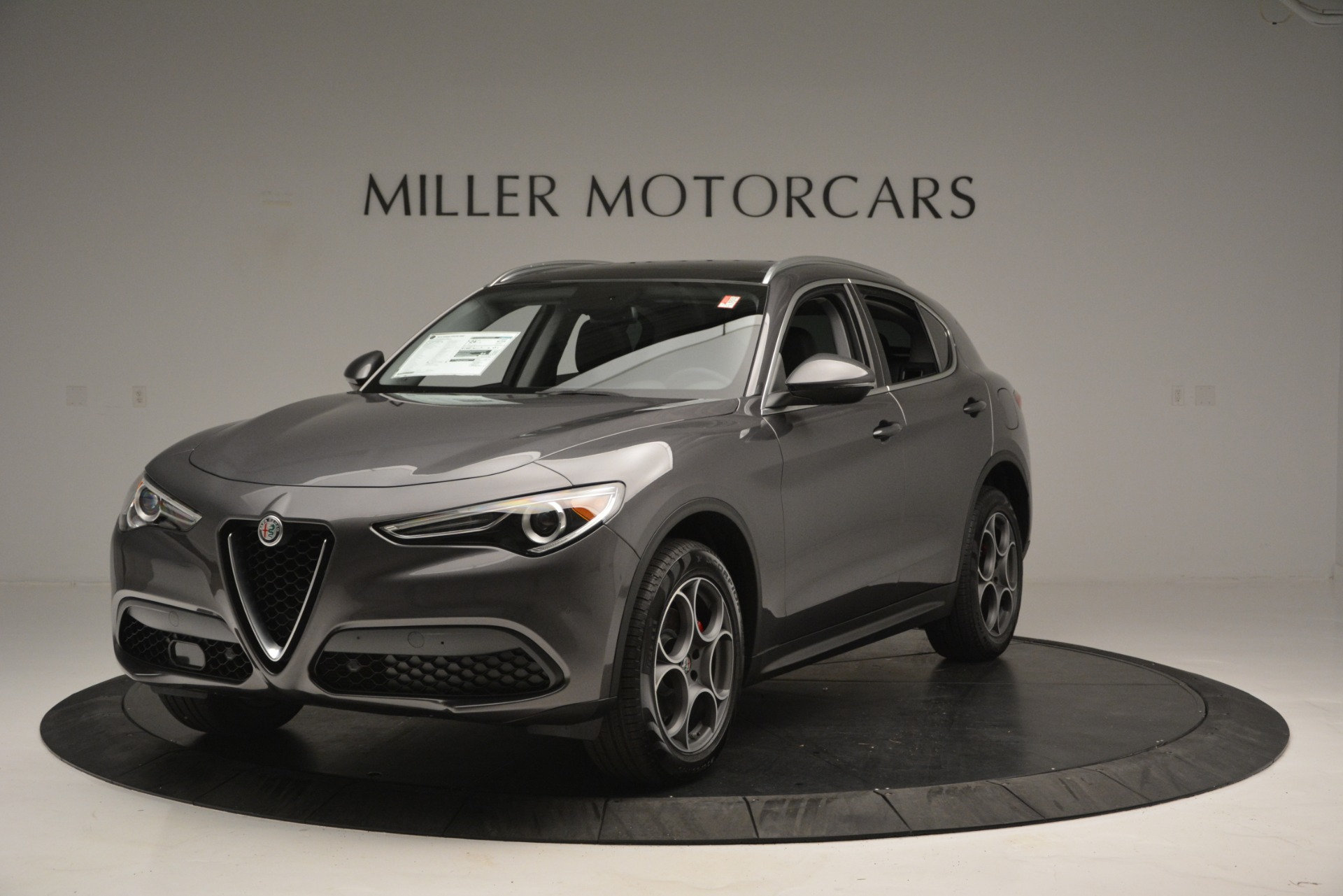 New 2019 Alfa Romeo Stelvio Q4 For Sale In Greenwich, CT. Alfa Romeo of Greenwich, L493