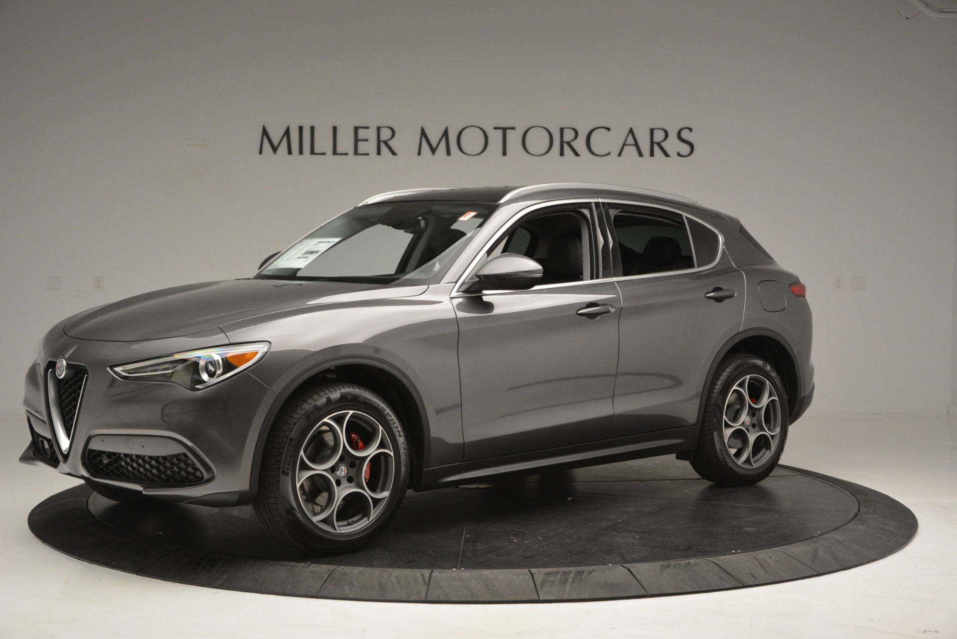 New 2019 Alfa Romeo Stelvio Q4 For Sale In Greenwich, CT. Alfa Romeo of Greenwich, L493 2653_p2