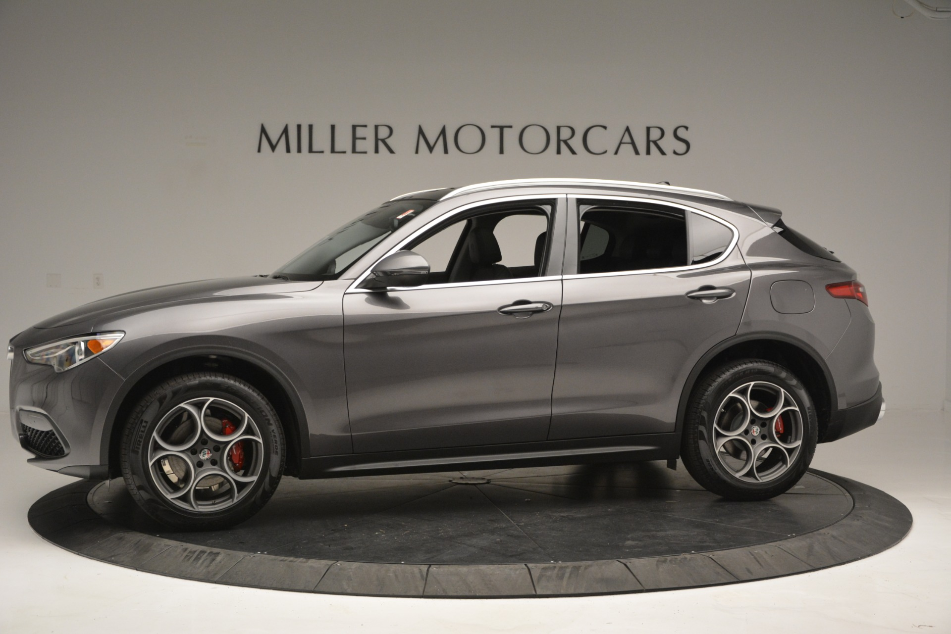 New 2019 Alfa Romeo Stelvio Q4 For Sale In Greenwich, CT. Alfa Romeo of Greenwich, L493 2653_p3