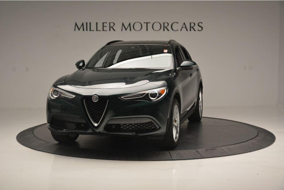 New 2019 Alfa Romeo Stelvio Sport Q4 For Sale In Greenwich, CT. Alfa Romeo of Greenwich, L495 2655_main
